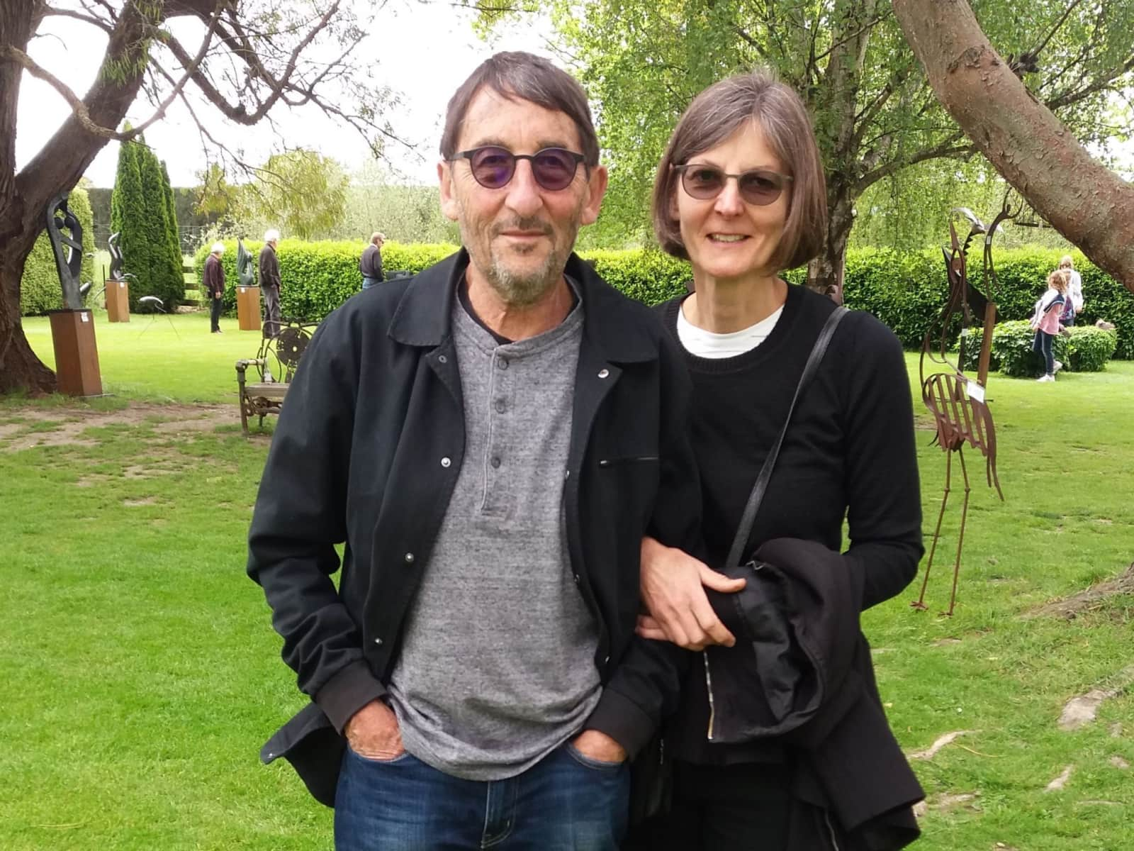Charlotte & Peter from Havelock North, New Zealand