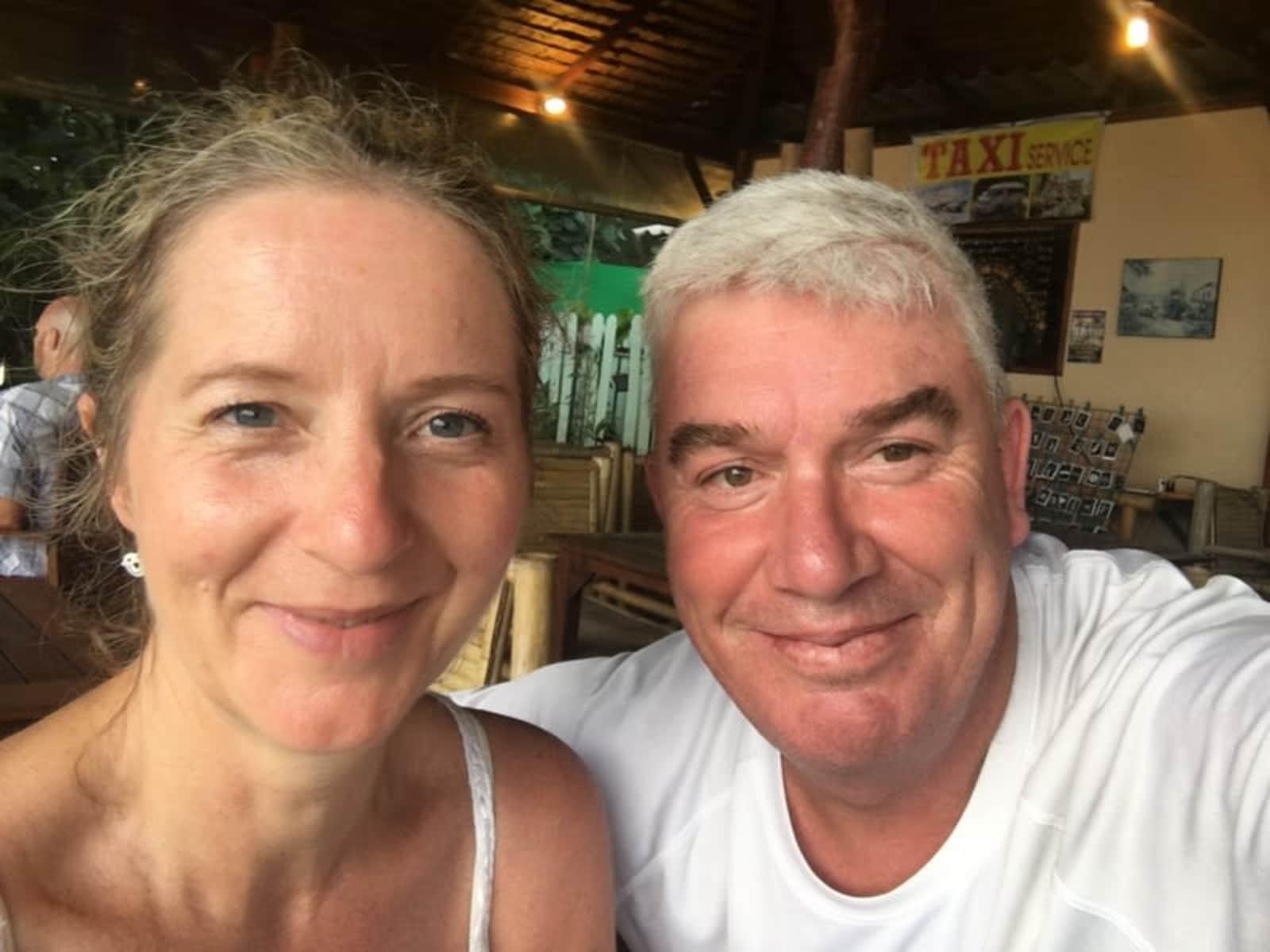 Mark & Alison from Melbourne, Victoria, Australia