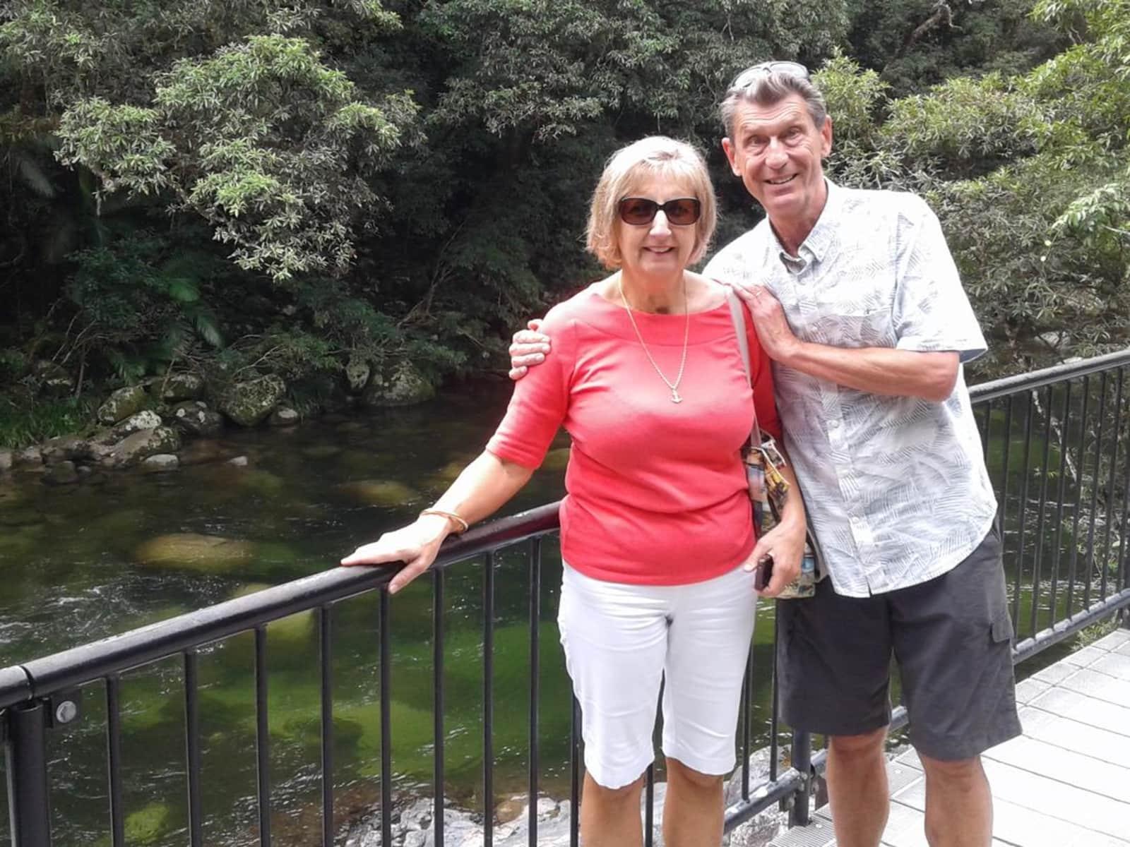 Ian & Heather from Brisbane, Queensland, Australia