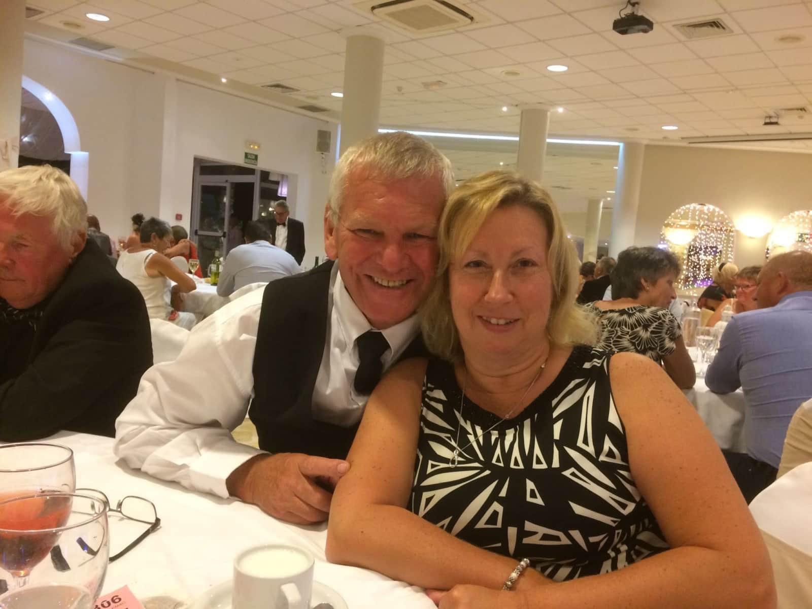 Lorraine & Jeffrey from Nottingham, United Kingdom
