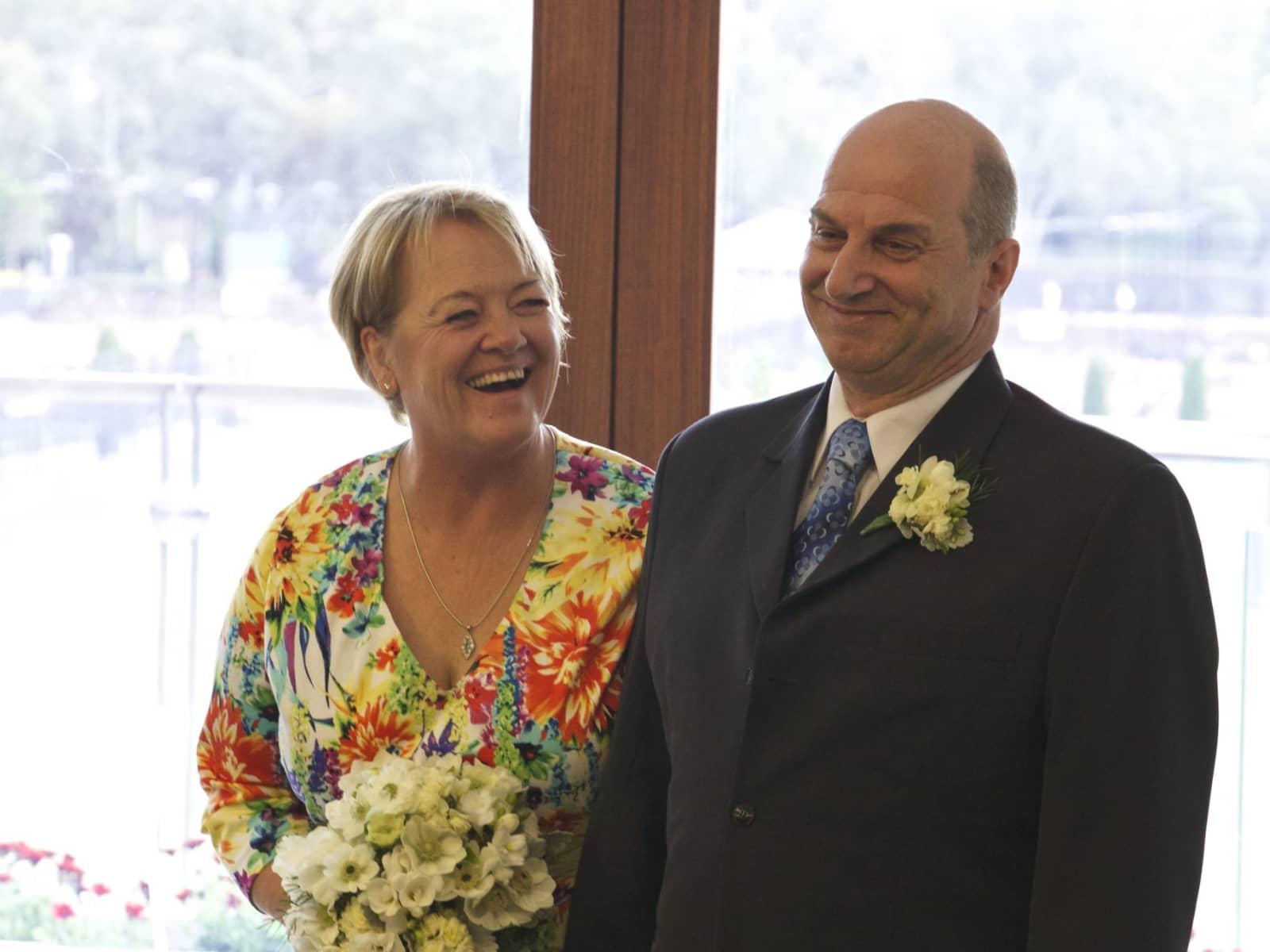 Susan & Alastair from Canberra, Australian Capital Territory, Australia