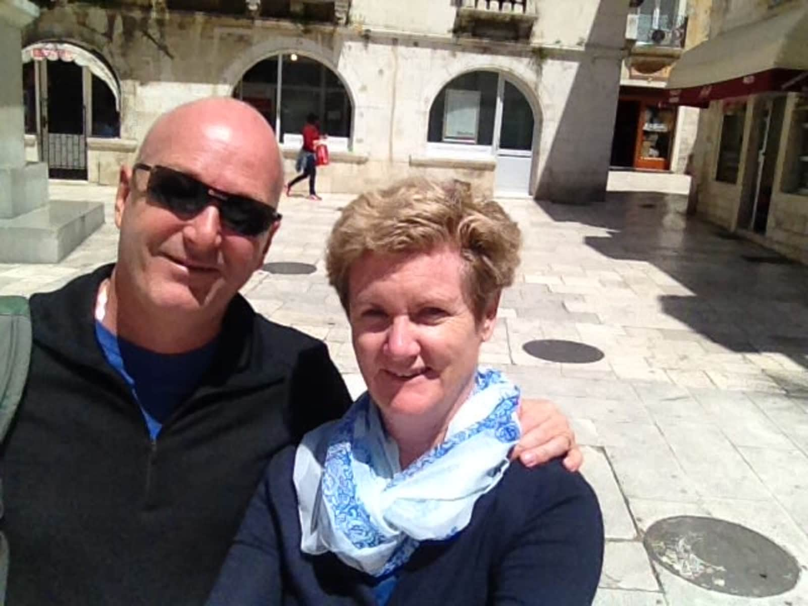 Chris & Sharon from Wellington, New Zealand