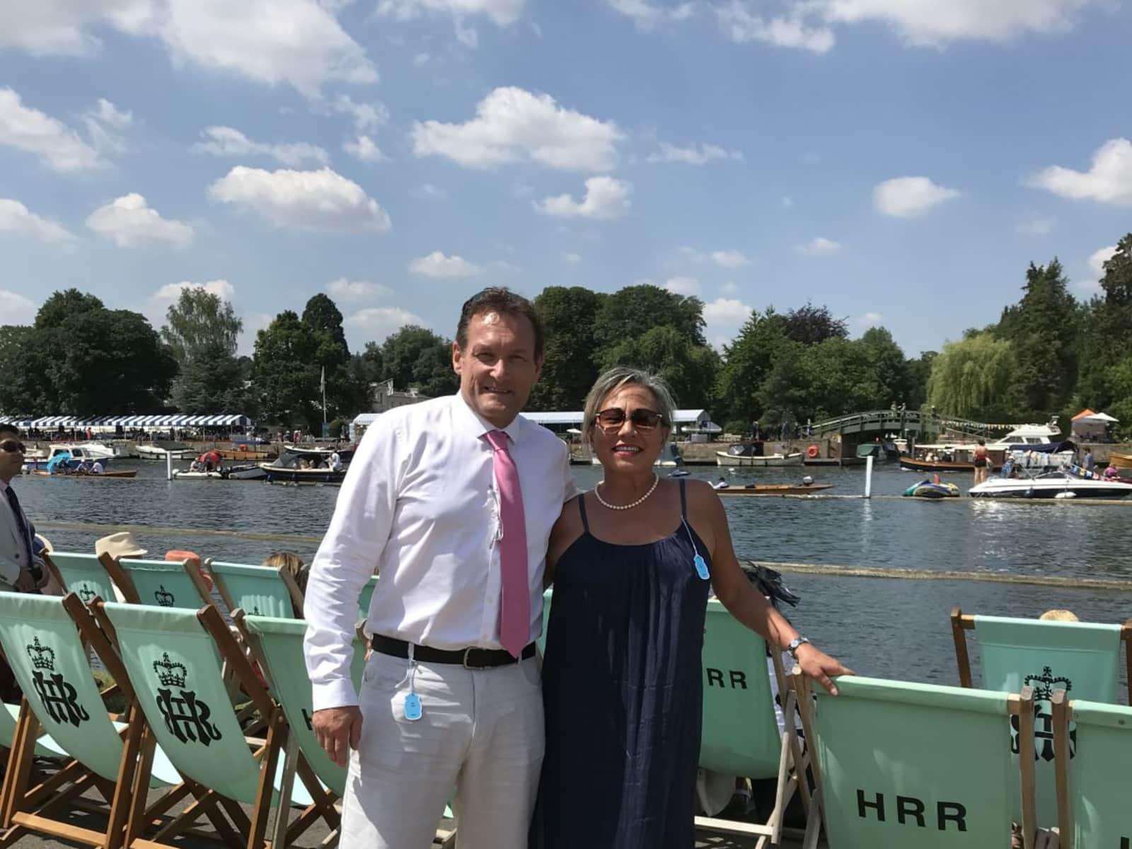 Sadie & Joachim from Maidenhead, United Kingdom