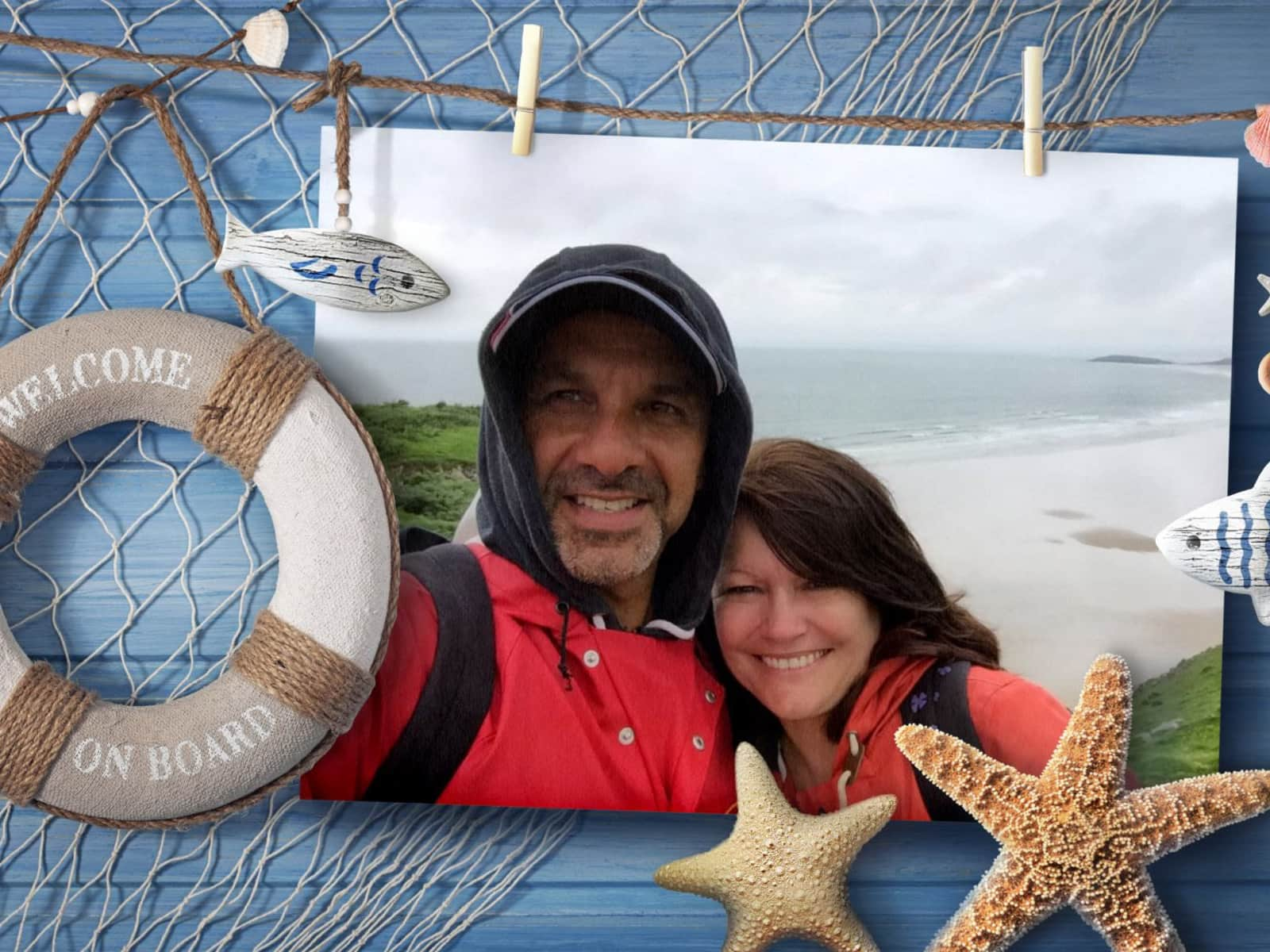 Christine & Peter from Ross on Wye, United Kingdom