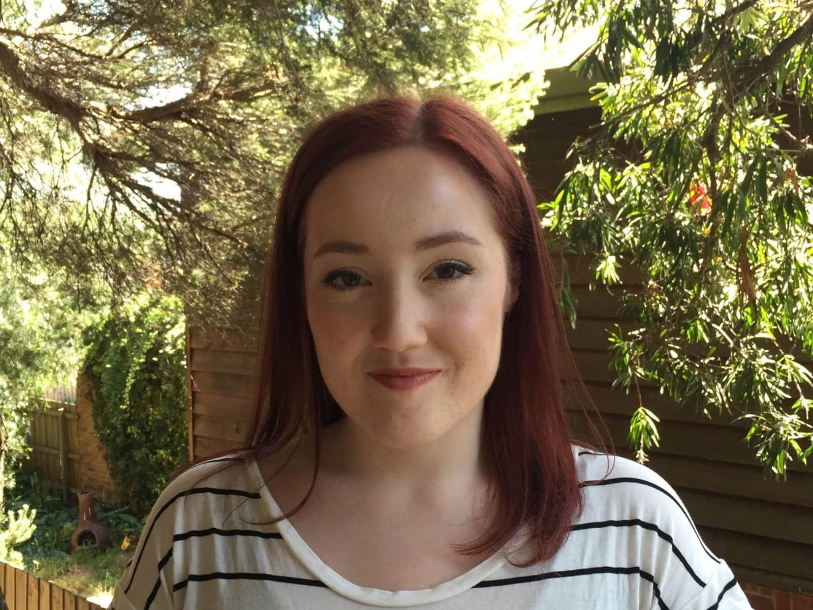 Zoe from Melbourne, Victoria, Australia