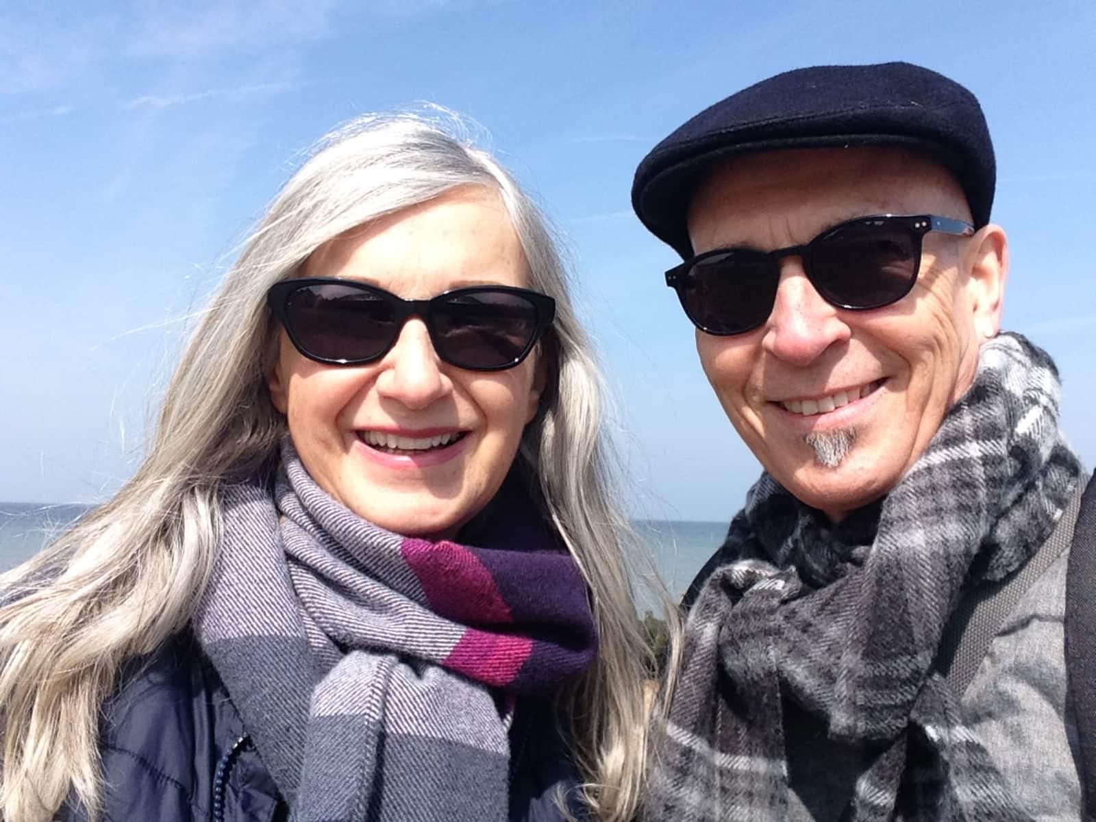 Peter & Glenda from Whitstable, United Kingdom