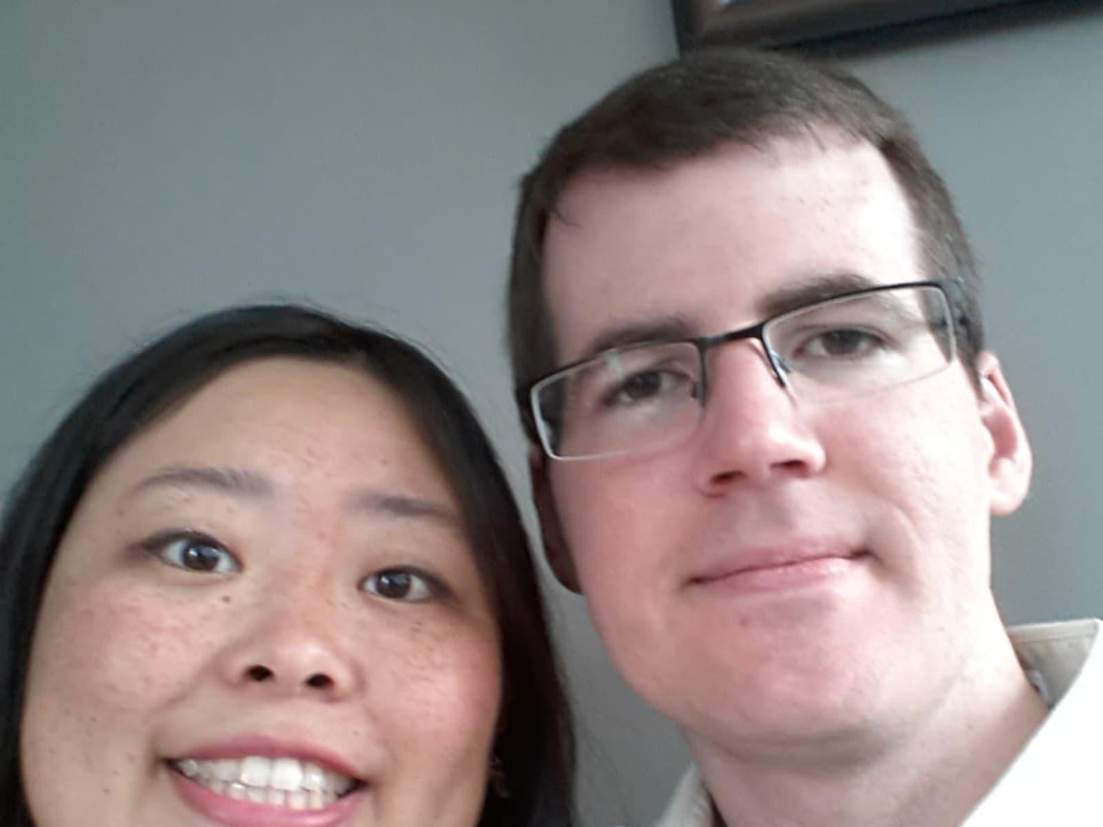 Julie & Chris from Burnaby, British Columbia, Canada