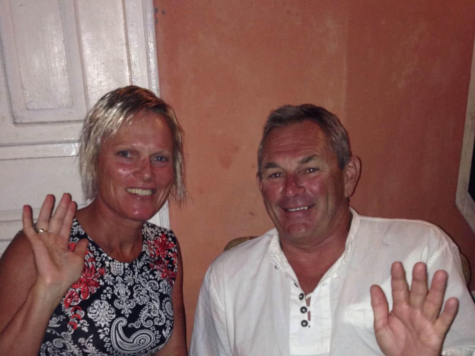 Jill & Phil from Hobart, Tasmania, Australia