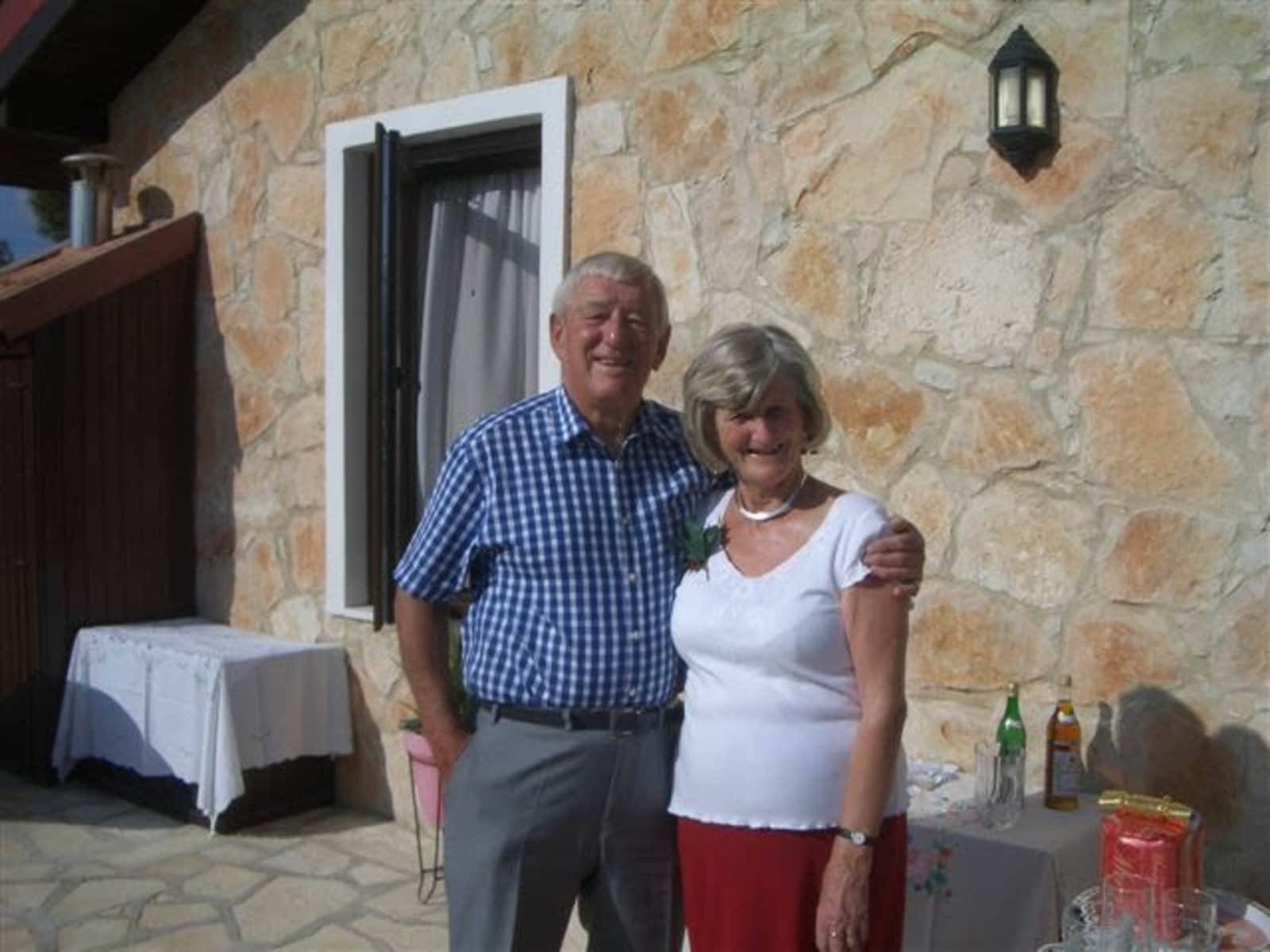 Mary & Michael from Çağlayan, Cyprus