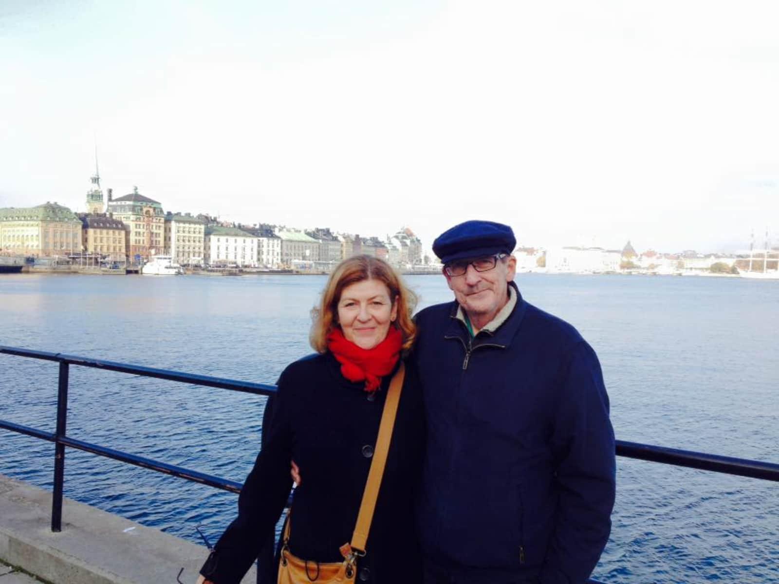 Catherine & Peter from Glasgow, United Kingdom