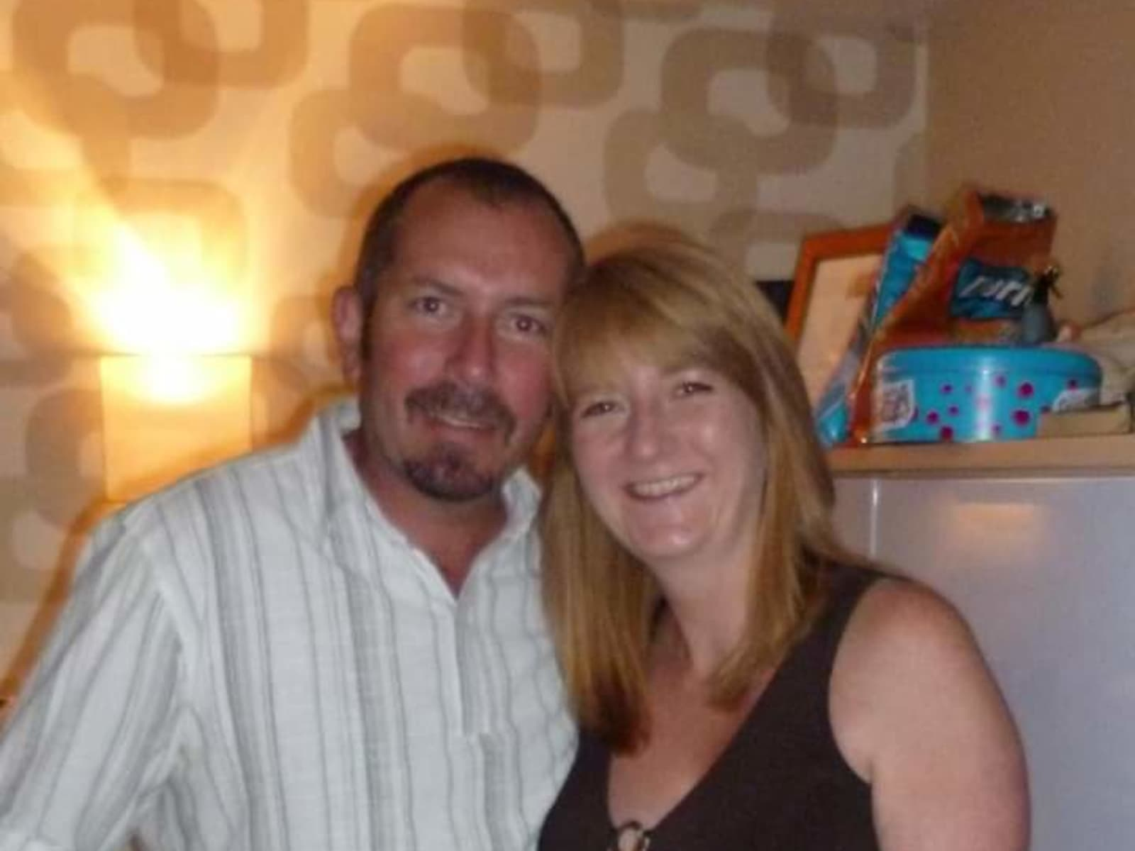 Terri & John holmes from Saddleworth, United Kingdom