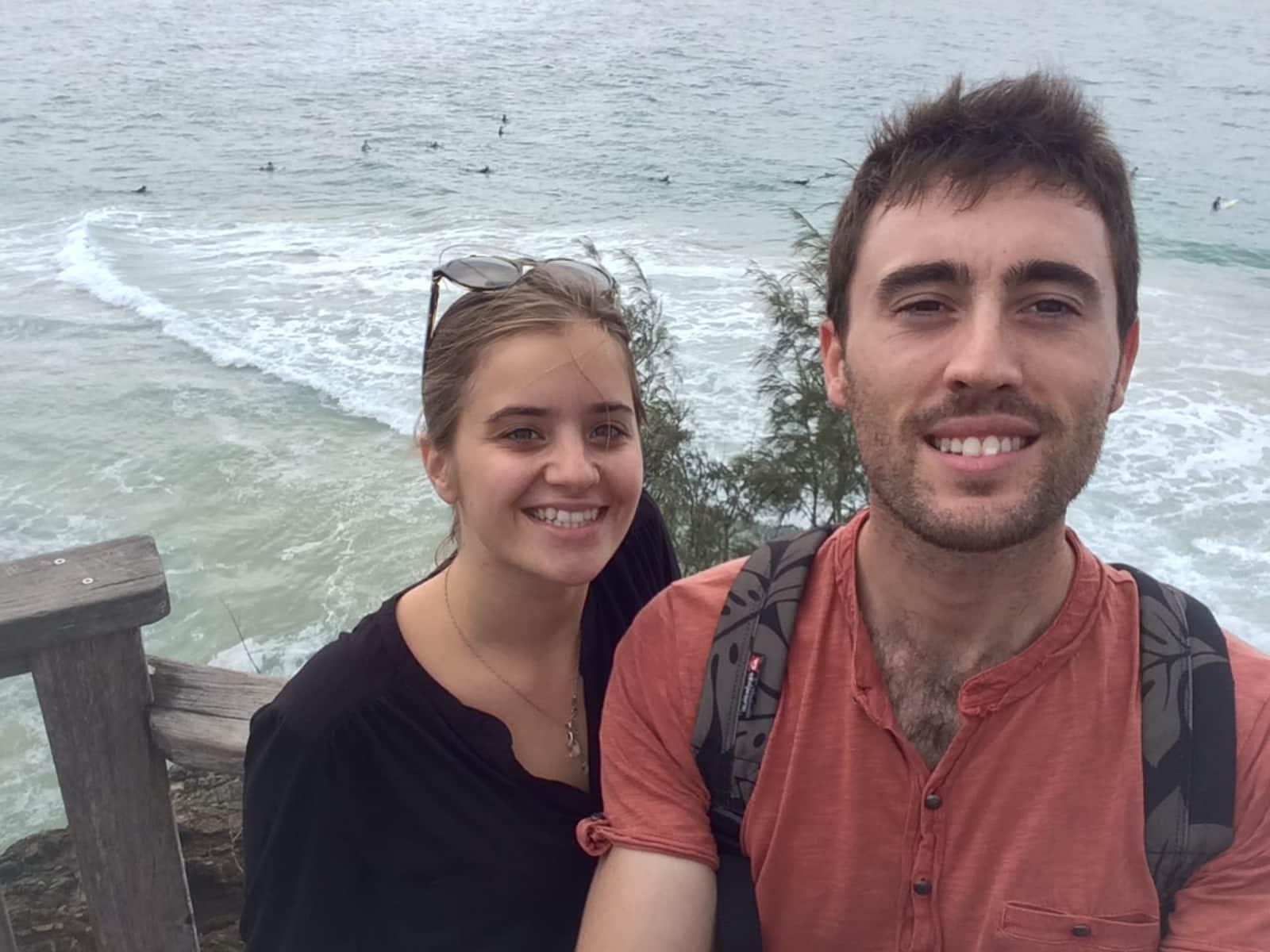 Aurelie & Guillaume from Brisbane, Queensland, Australia