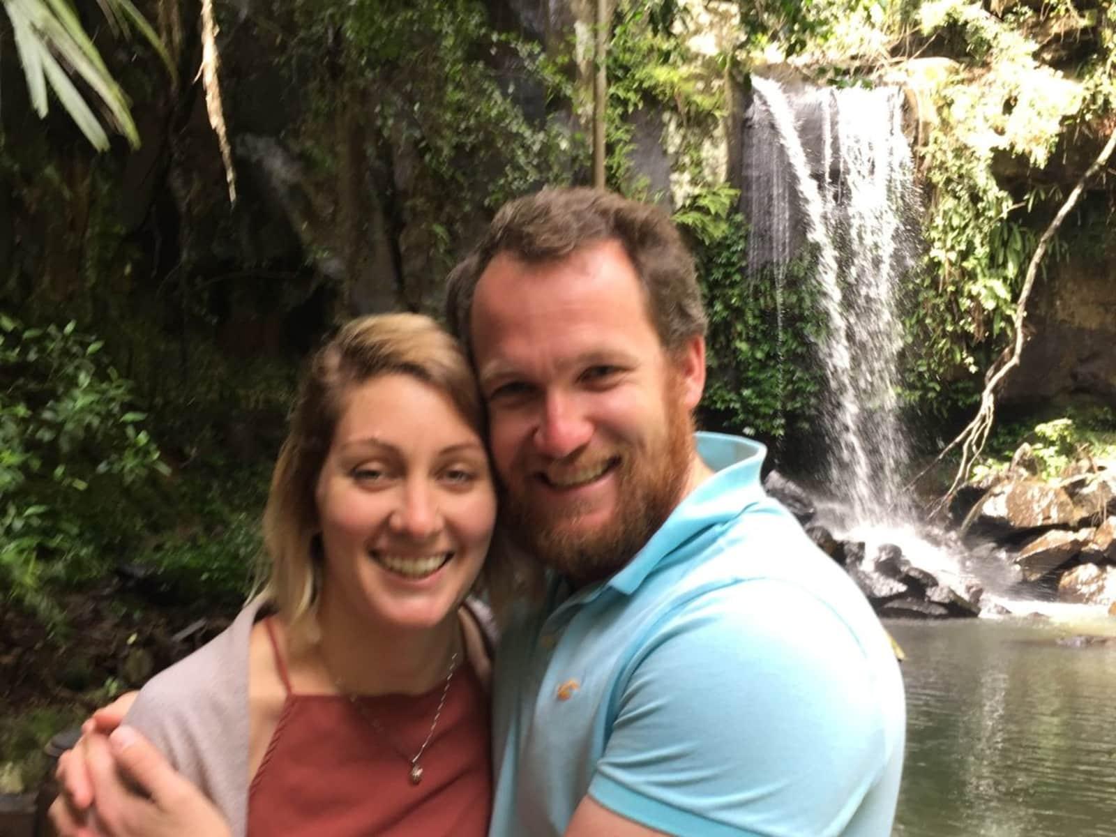 Matthew & Sarah from Perth, Western Australia, Australia