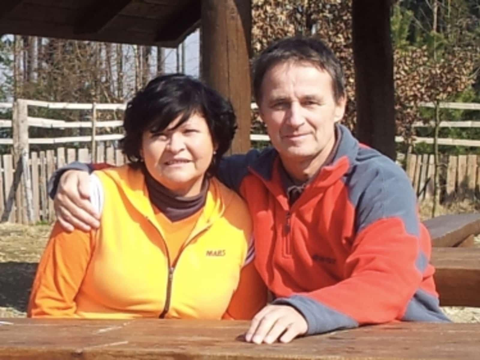 Vitezslav & Radmila from Olomouc, Czech Republic