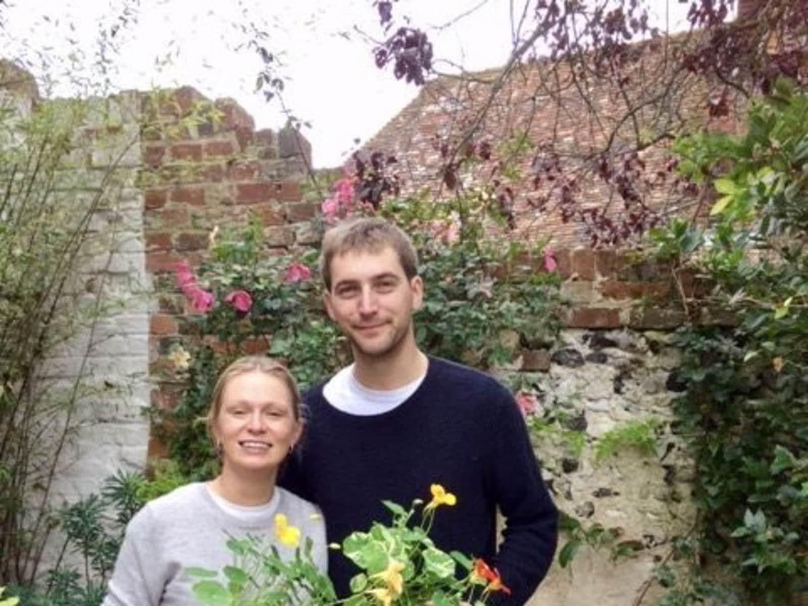 Jamie & Christy from Herne Hill, United Kingdom
