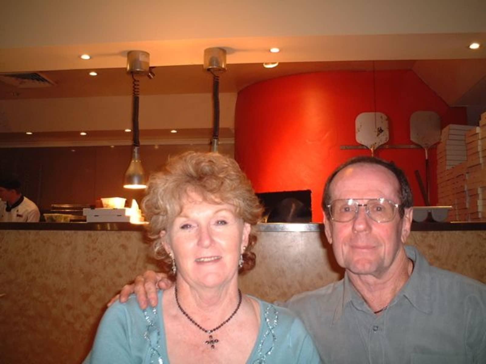 Tricia & Tony from Carey Bay, New South Wales, Australia