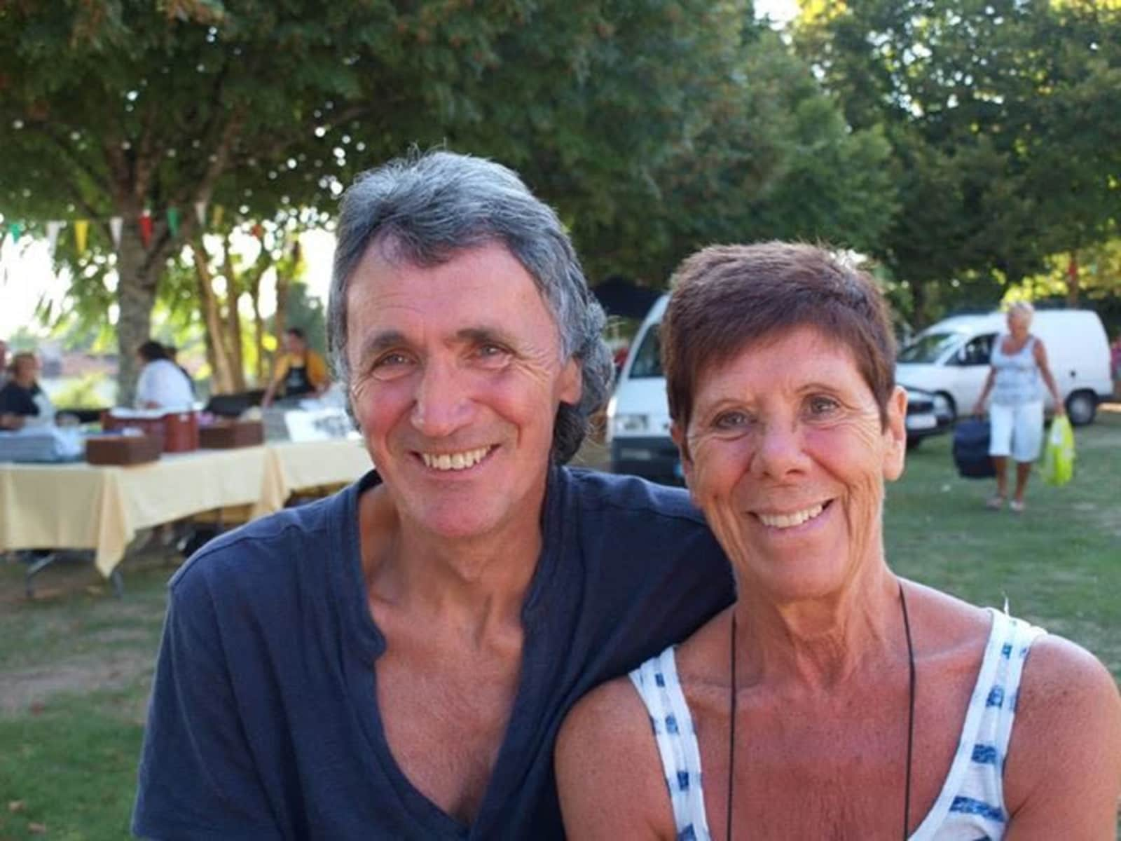 Myra & Brian from Cardiff, United Kingdom