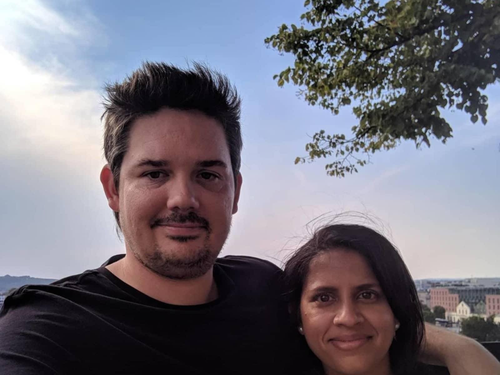 Joe & Shereen from Perth, Western Australia, Australia