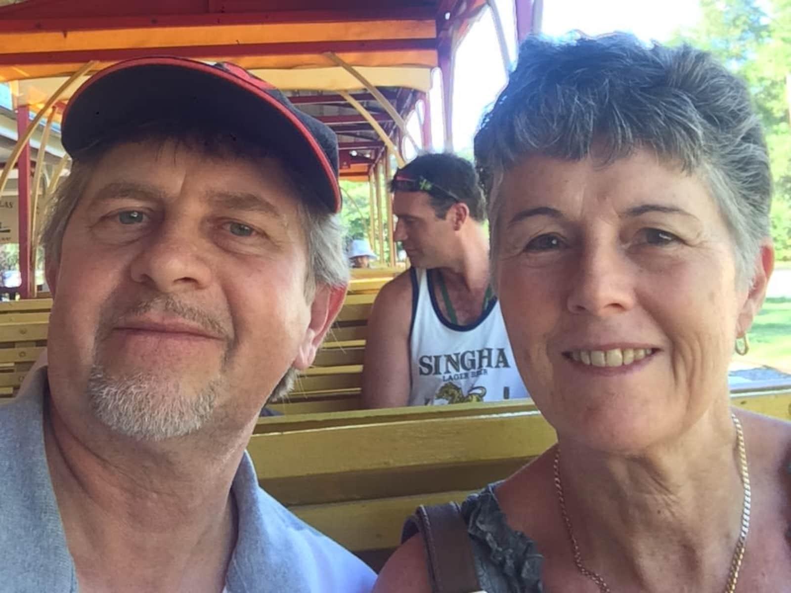 Christine & Rob from Toowoomba, Queensland, Australia