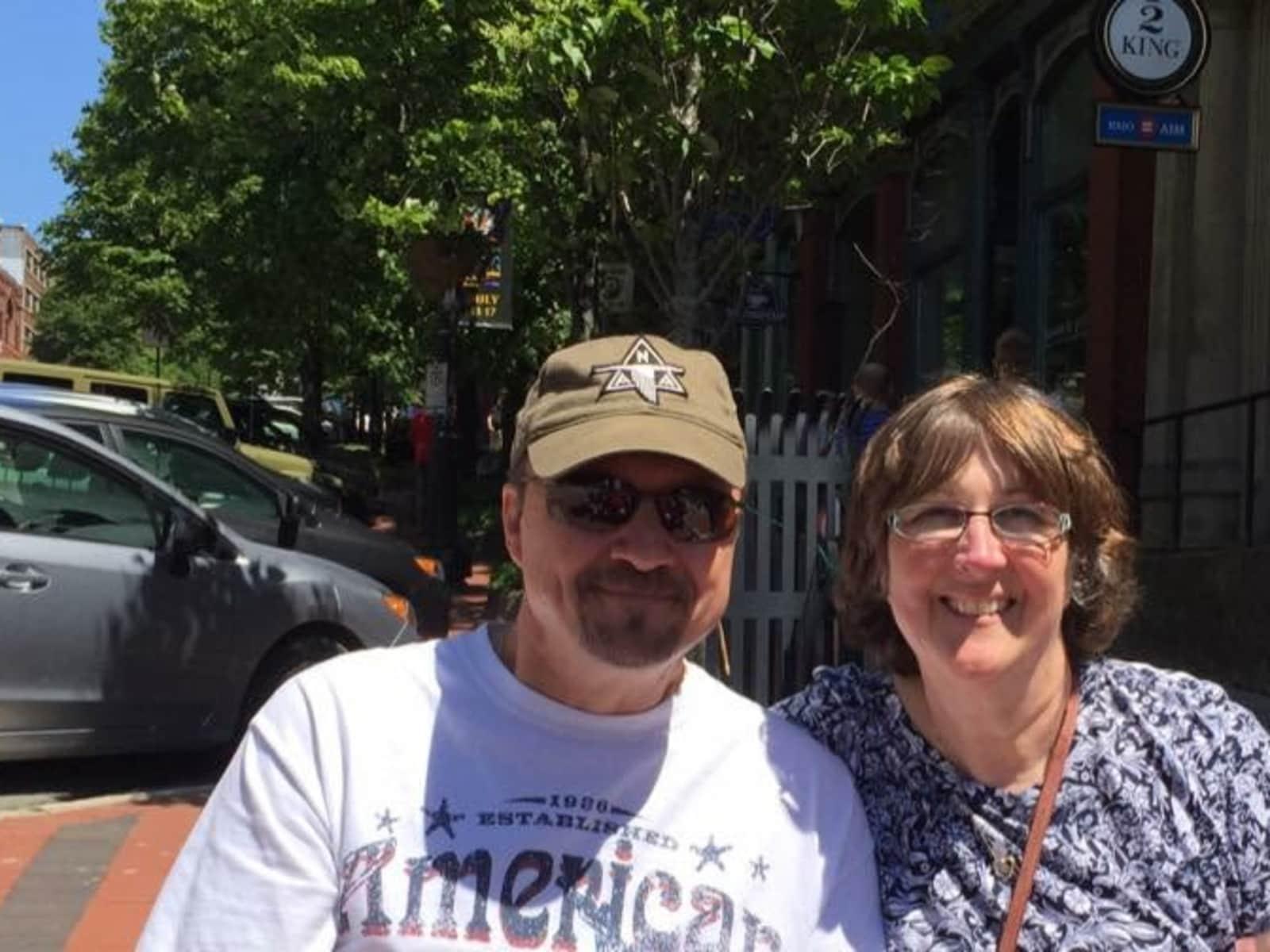 Janet & Robert from Saint John, New Brunswick, Canada