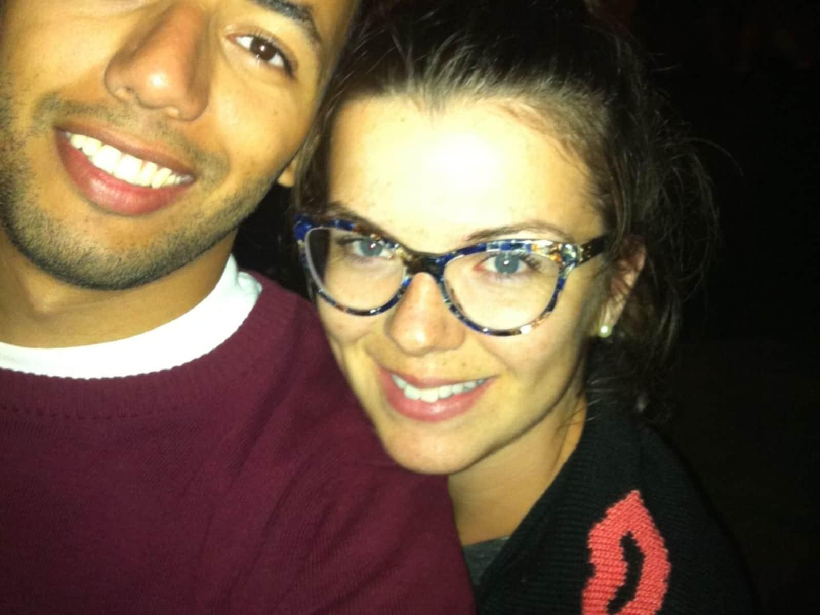 Ahmed & Jessie from Québec, Quebec, Canada