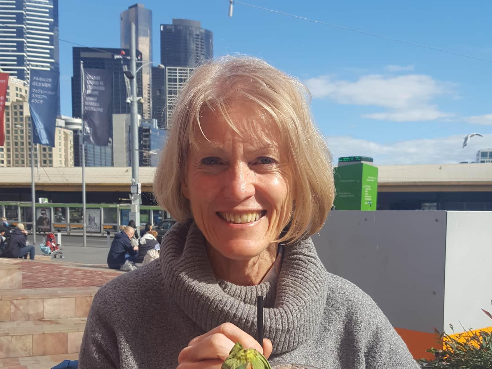 Liz from Melbourne, Victoria, Australia