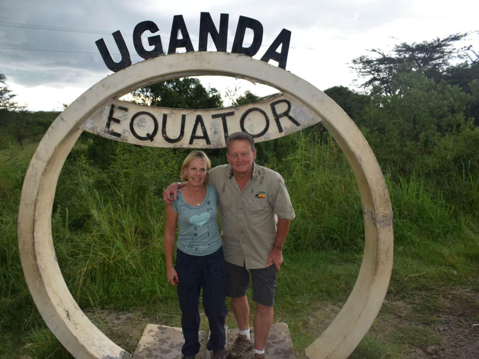 David & Lynda from Exeter, United Kingdom