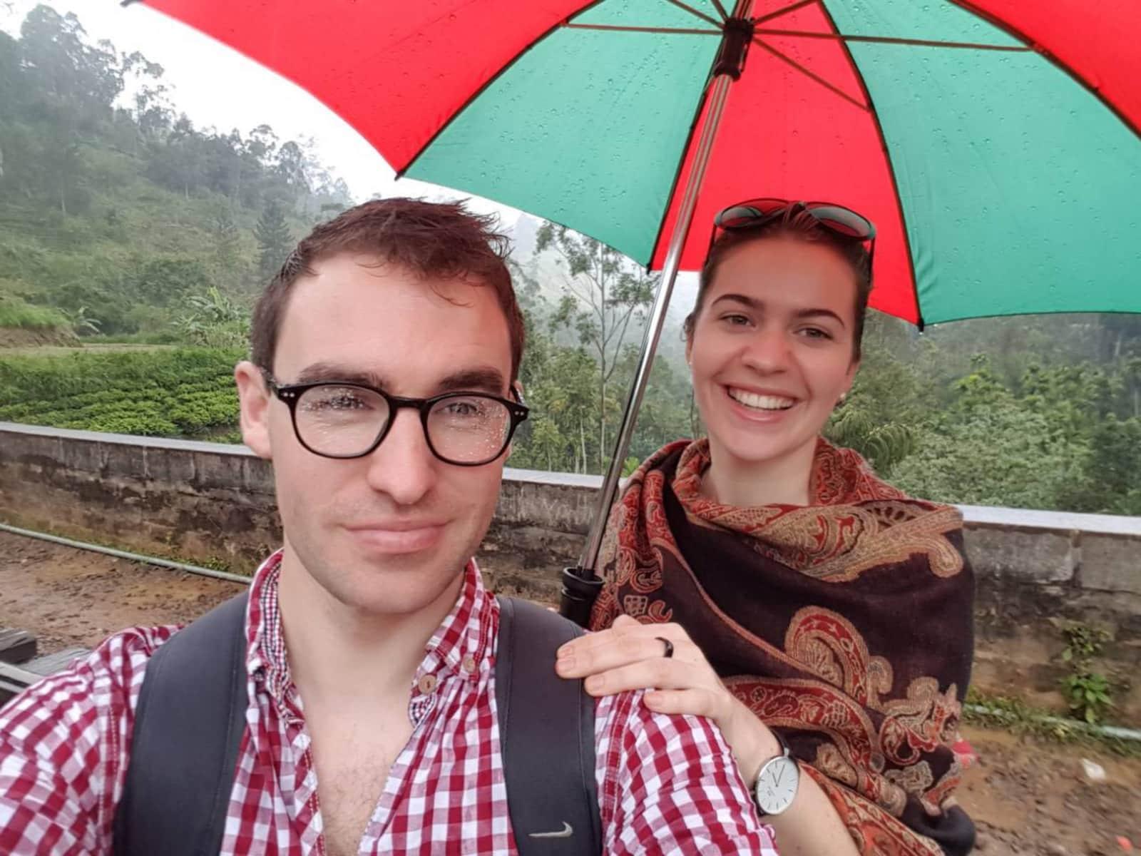 Katie & Laurence from Cork, Ireland
