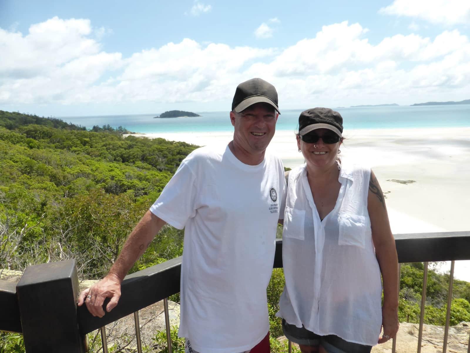 Andrea & Frazer from Sydney, New South Wales, Australia