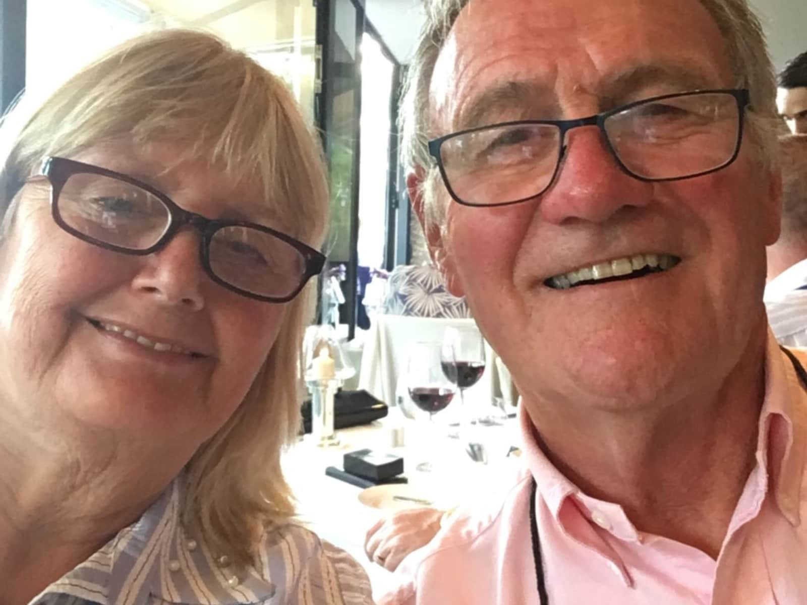 Jackie & Don from Havant, United Kingdom