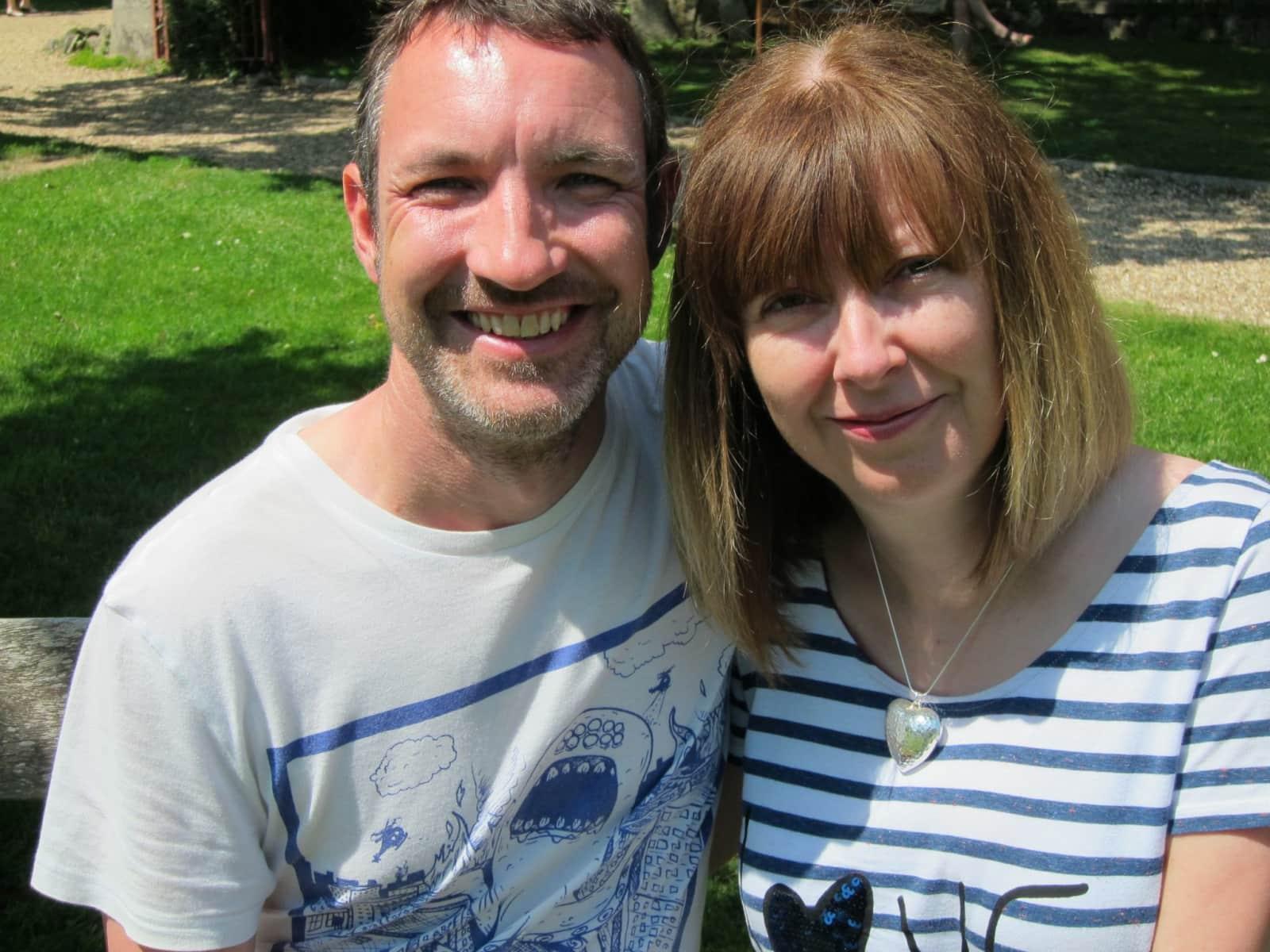 Shane & Kathy from Lynton, United Kingdom