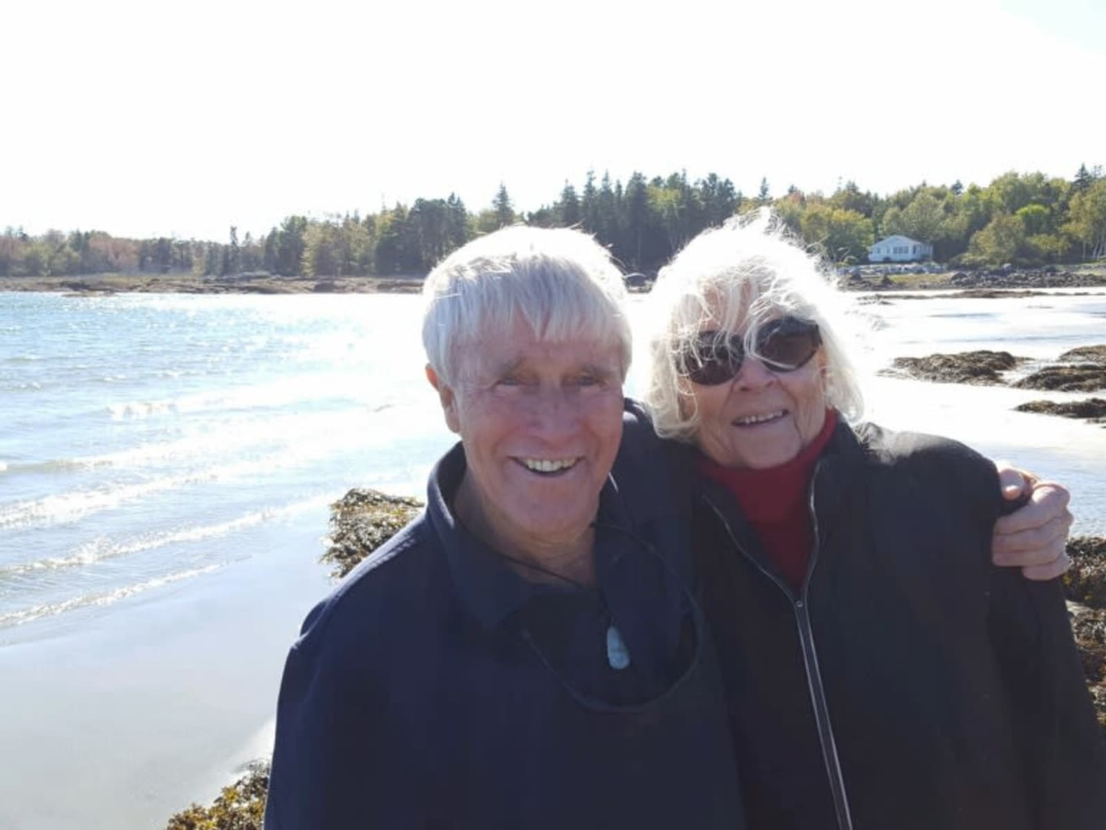 Brian & Elizabeth from Portland, Maine, United States