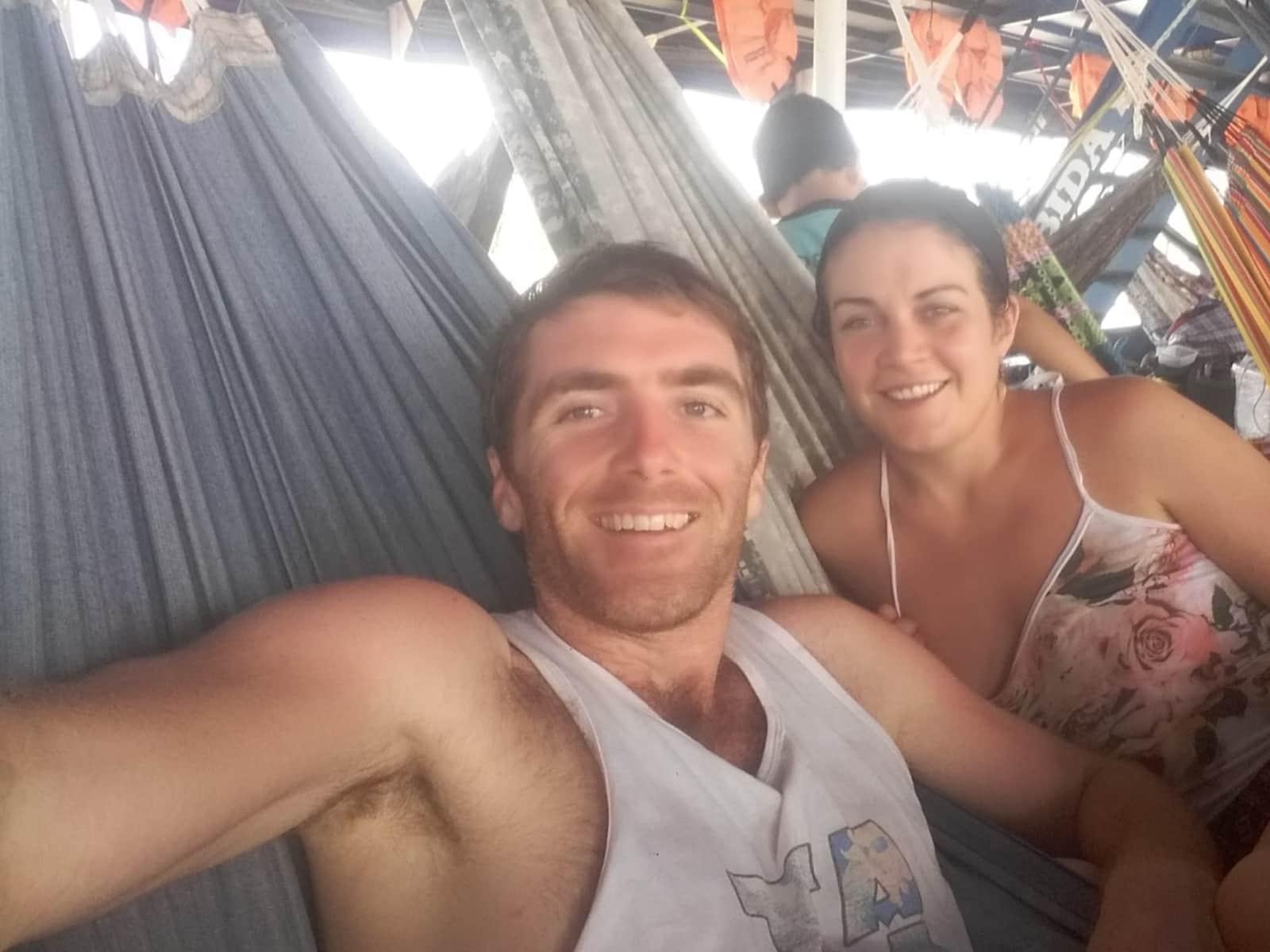Brendan & Kim from Sligo, Ireland