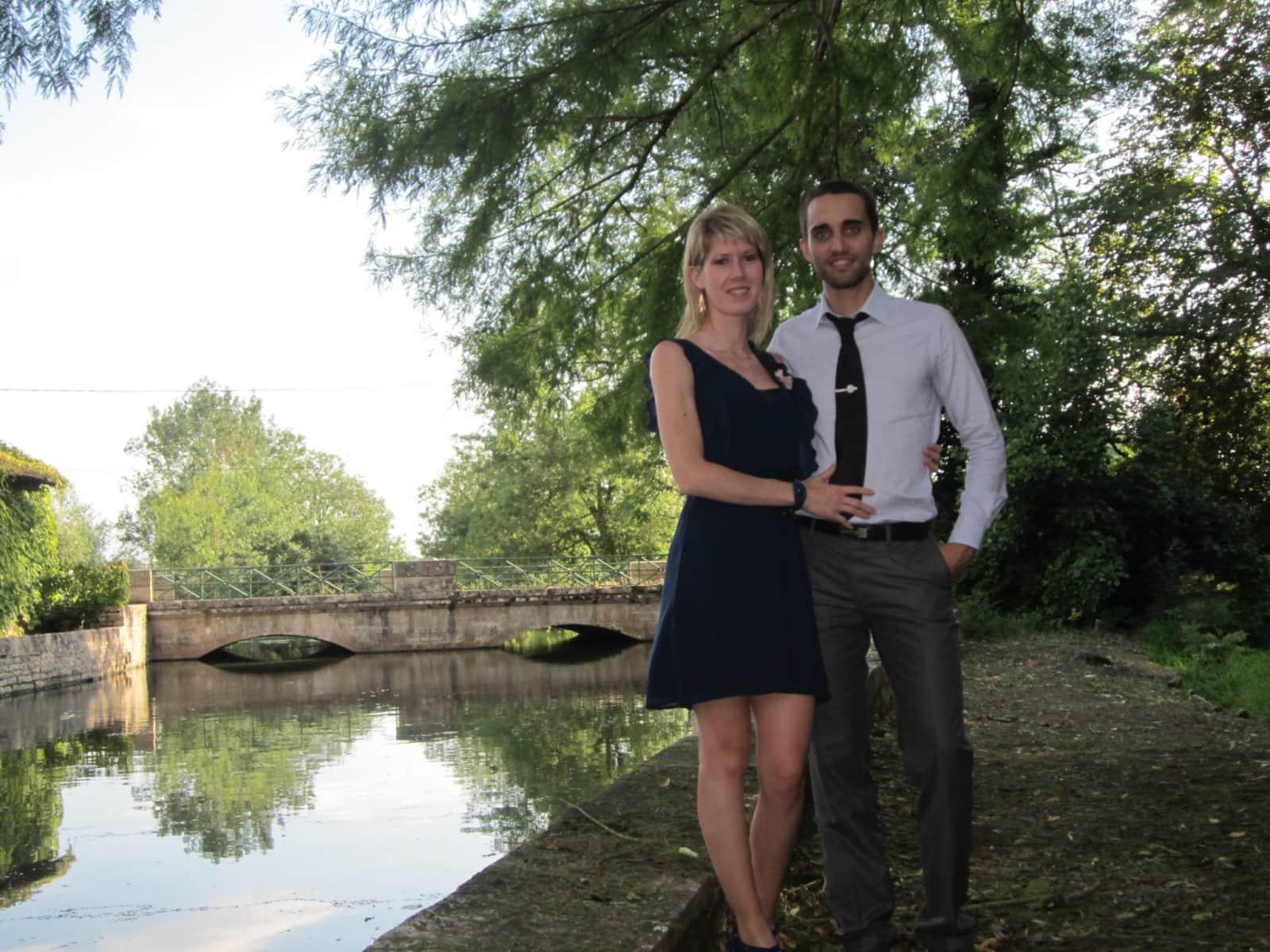 Simon & Léonie from London, United Kingdom
