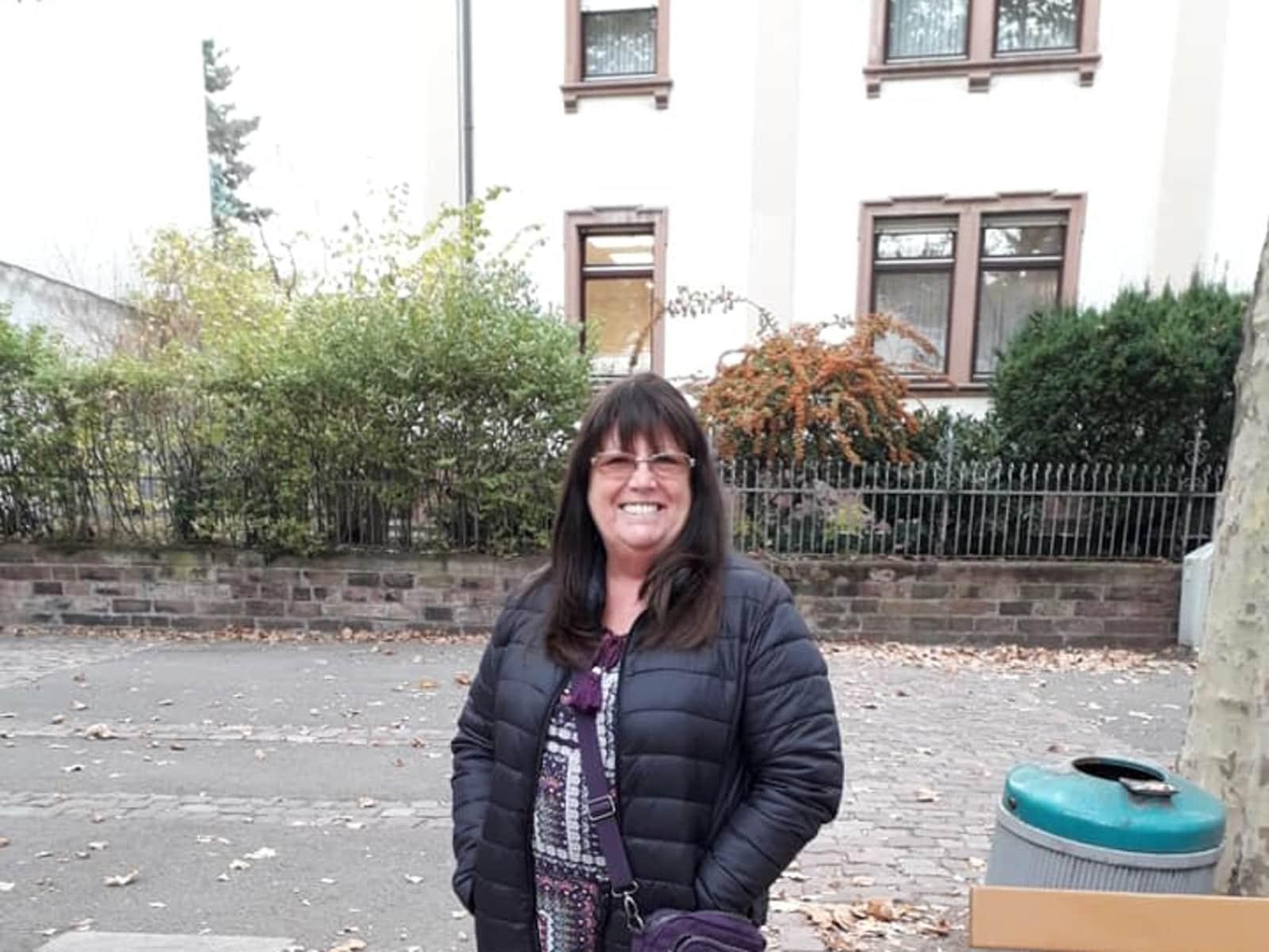 Diane from Mannheim, Germany