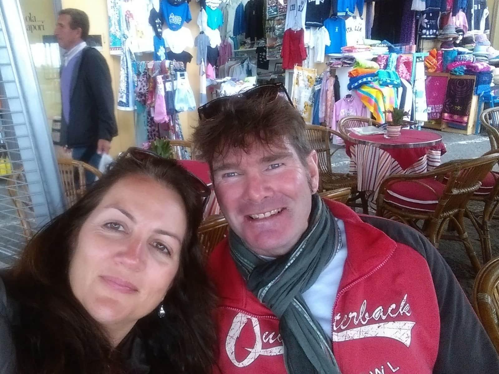 Vicky & Derrick from Dubai, United Arab Emirates