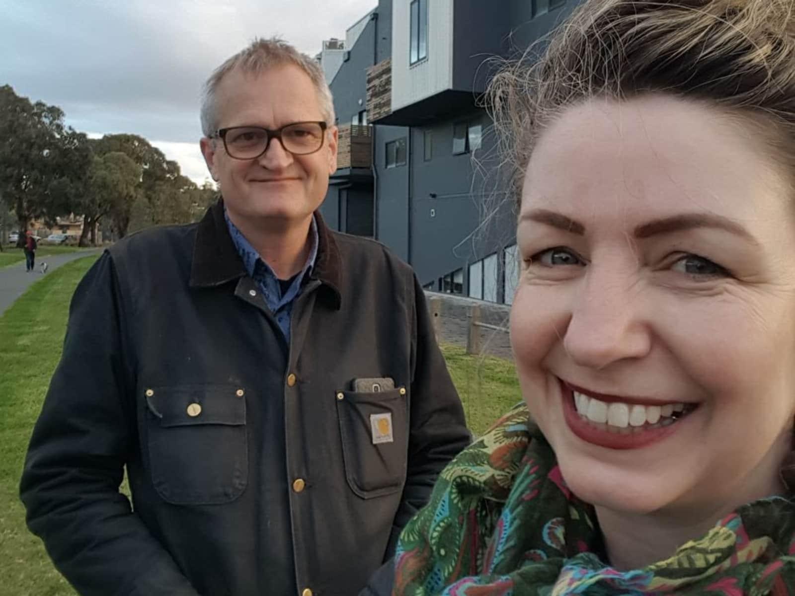 Jude & Martin from Melbourne, Victoria, Australia