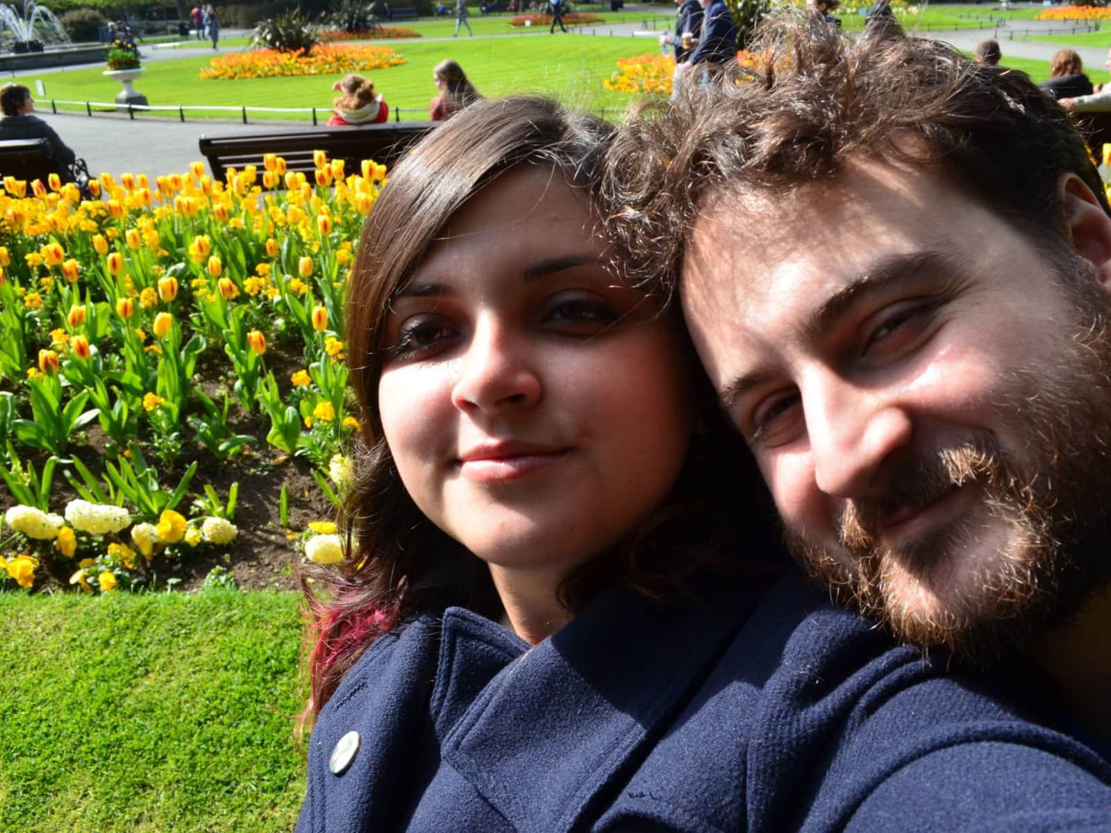 Barbara & Carlos from Kilkenny, Ireland