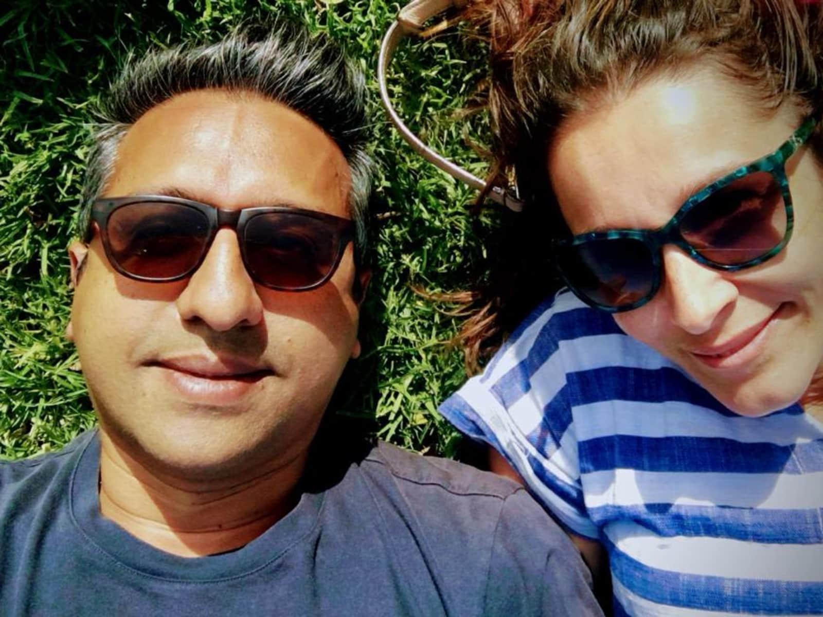 Simone & Manish from Brisbane, Queensland, Australia