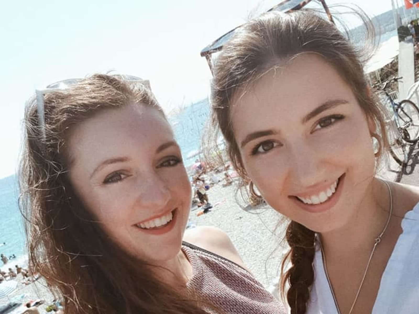 Anaïs & Christine from Valbonne, France
