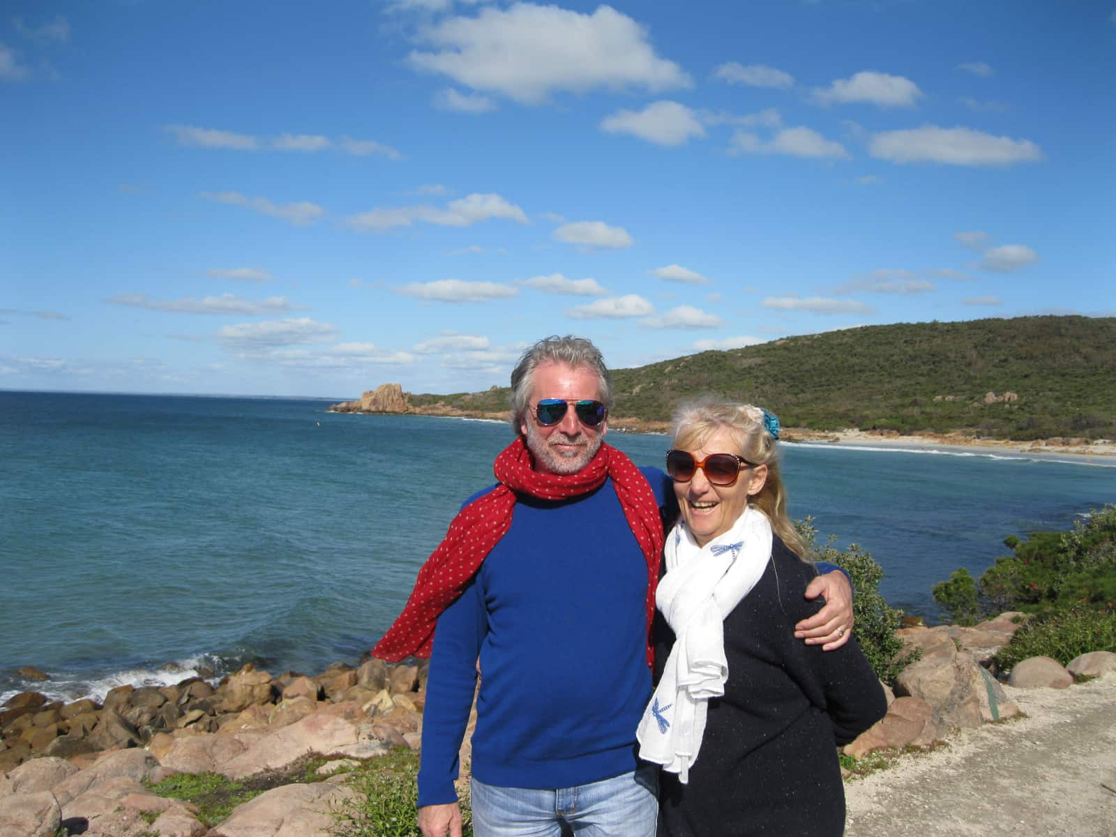 Tricia & John from Busselton, Western Australia, Australia
