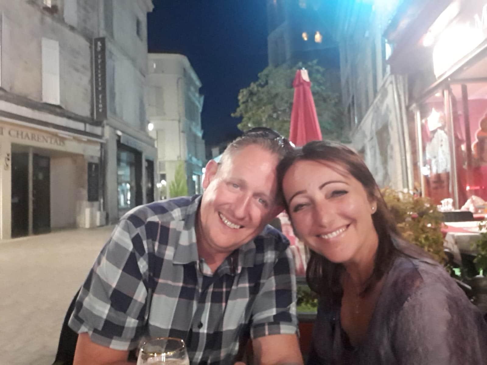 Lorraine & Shaun from Newton Abbot, United Kingdom