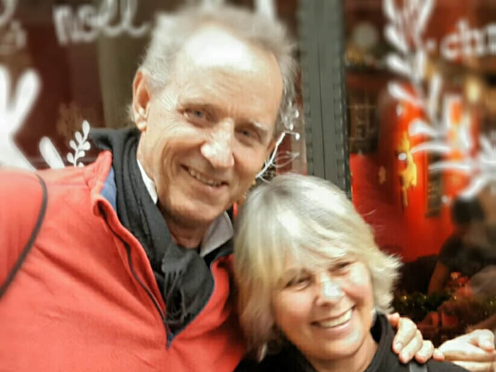 Sidney & Janice from Amsterdam, Netherlands