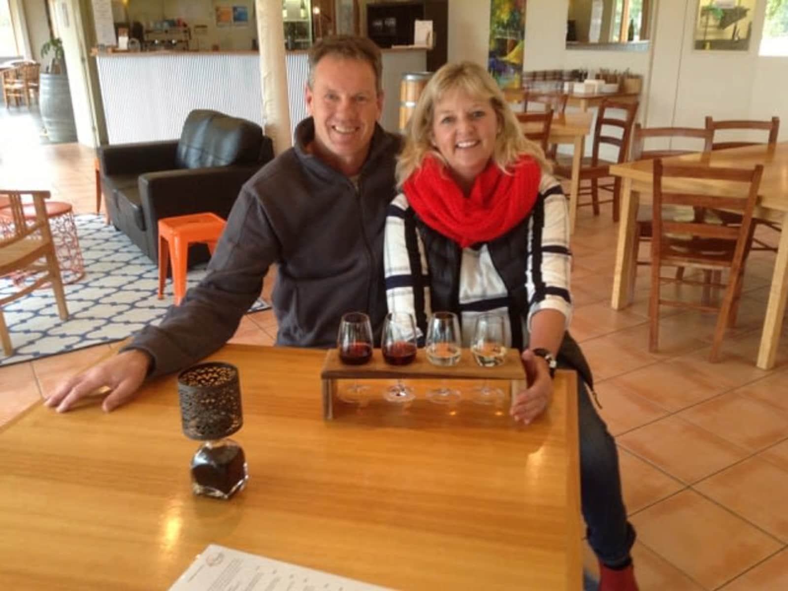 Karen & Brian from Geelong, Victoria, Australia