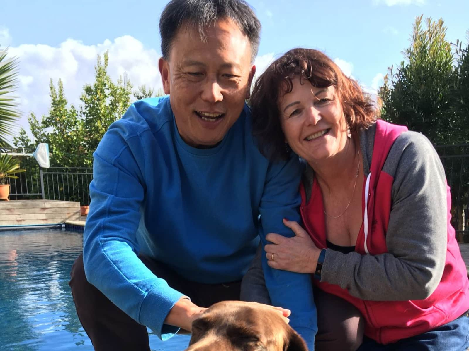 Jane & Steve from Tauranga, New Zealand