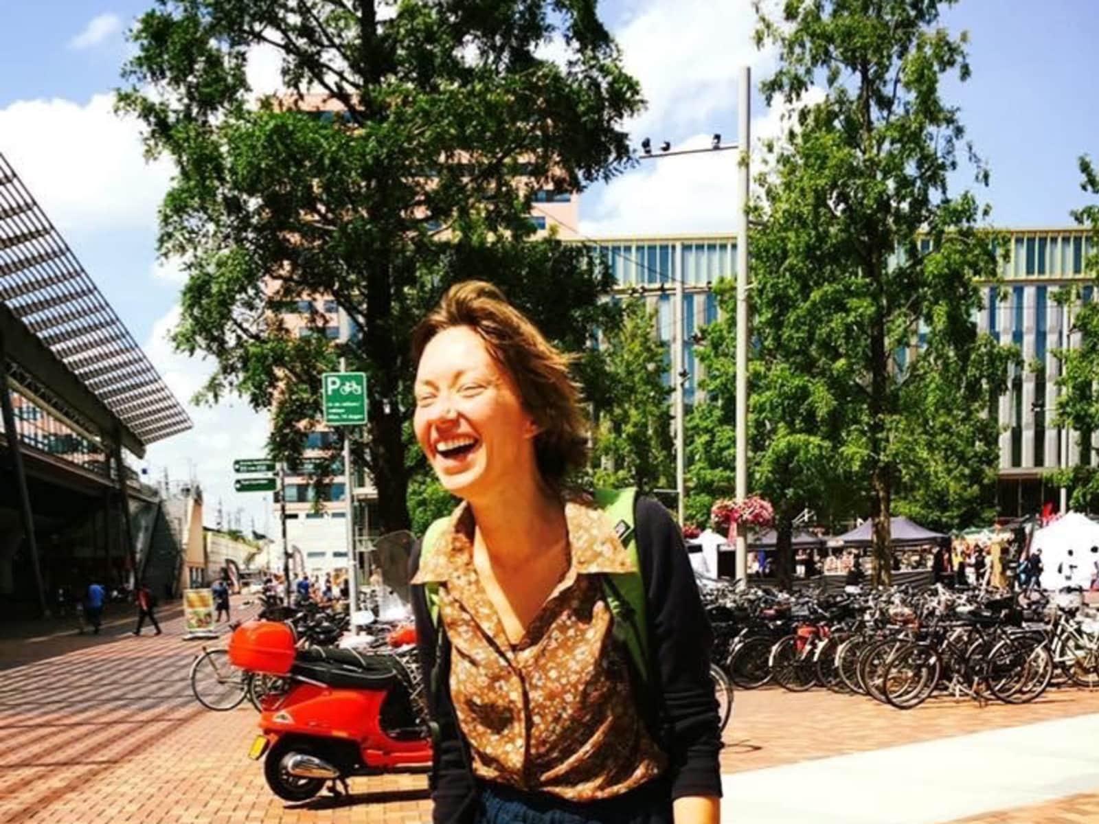 Karolina from Amsterdam, Netherlands