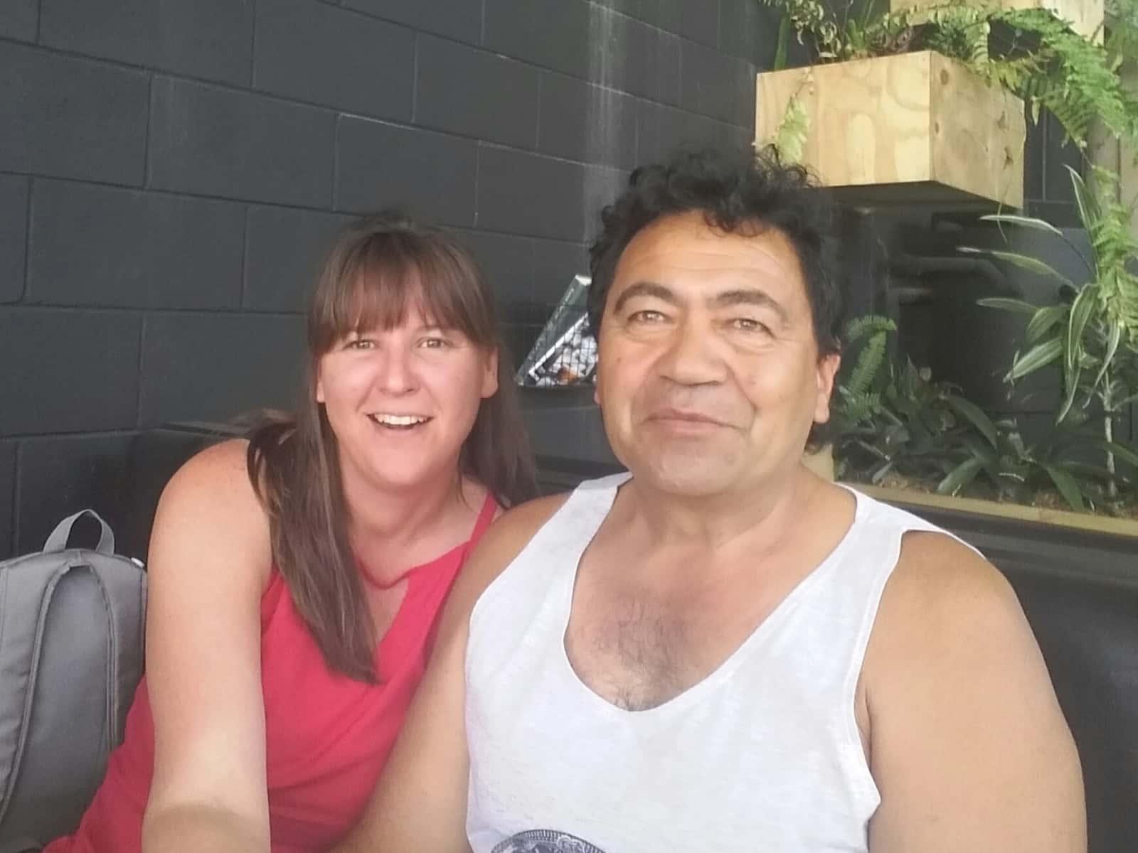 Michelle & Lance from Coromandel, New Zealand