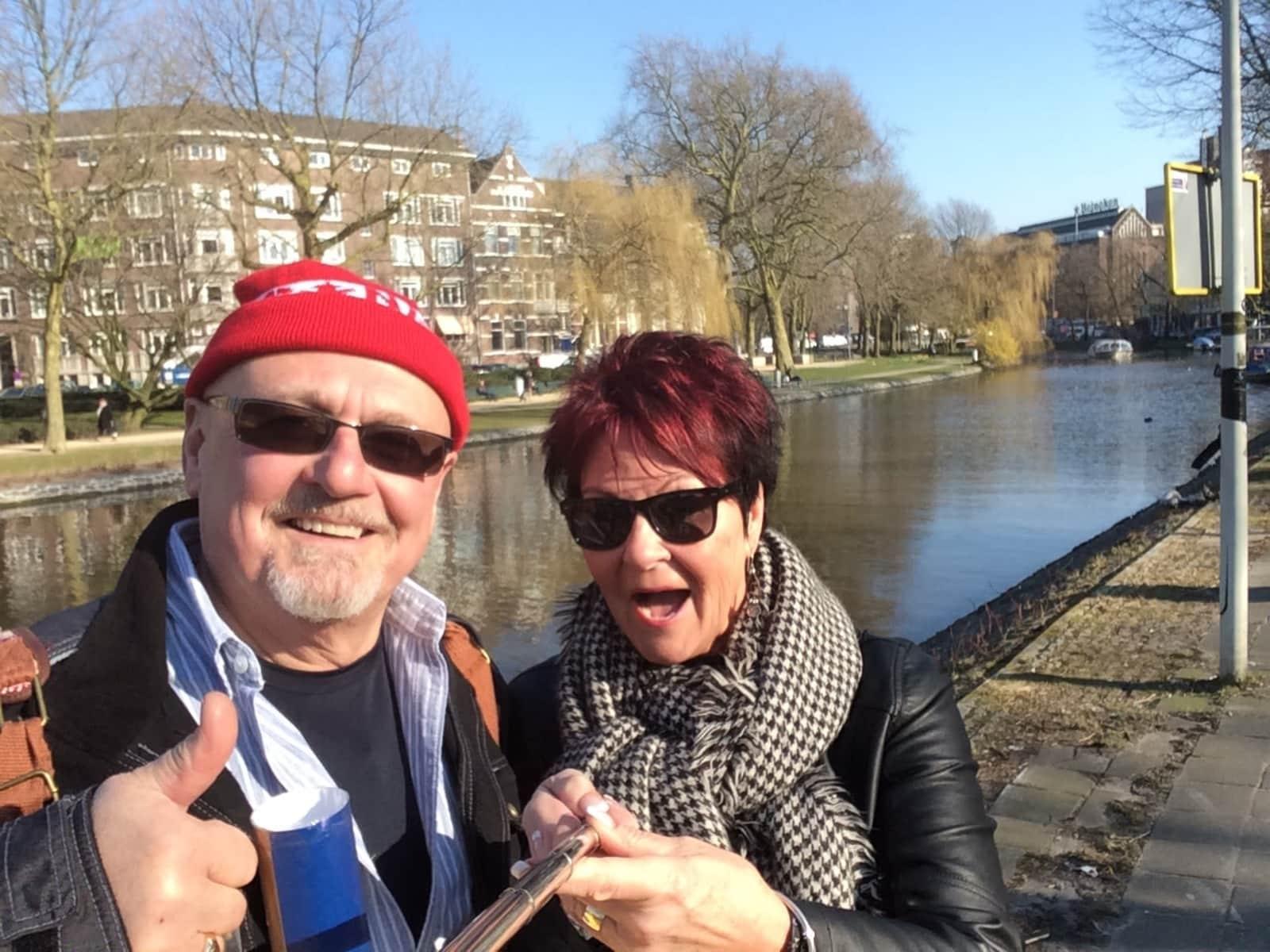 Sheila & Kenneth from Edmonton, Alberta, Canada
