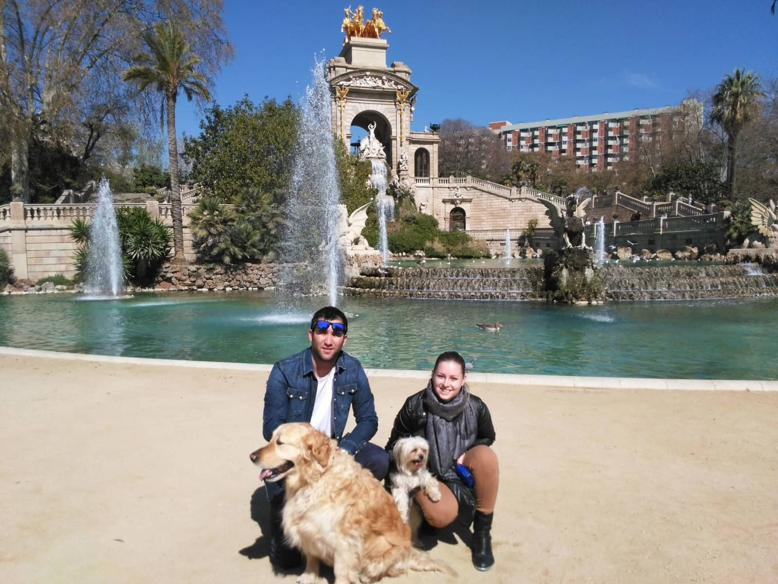 Hana & Victor from Barcelona, Spain