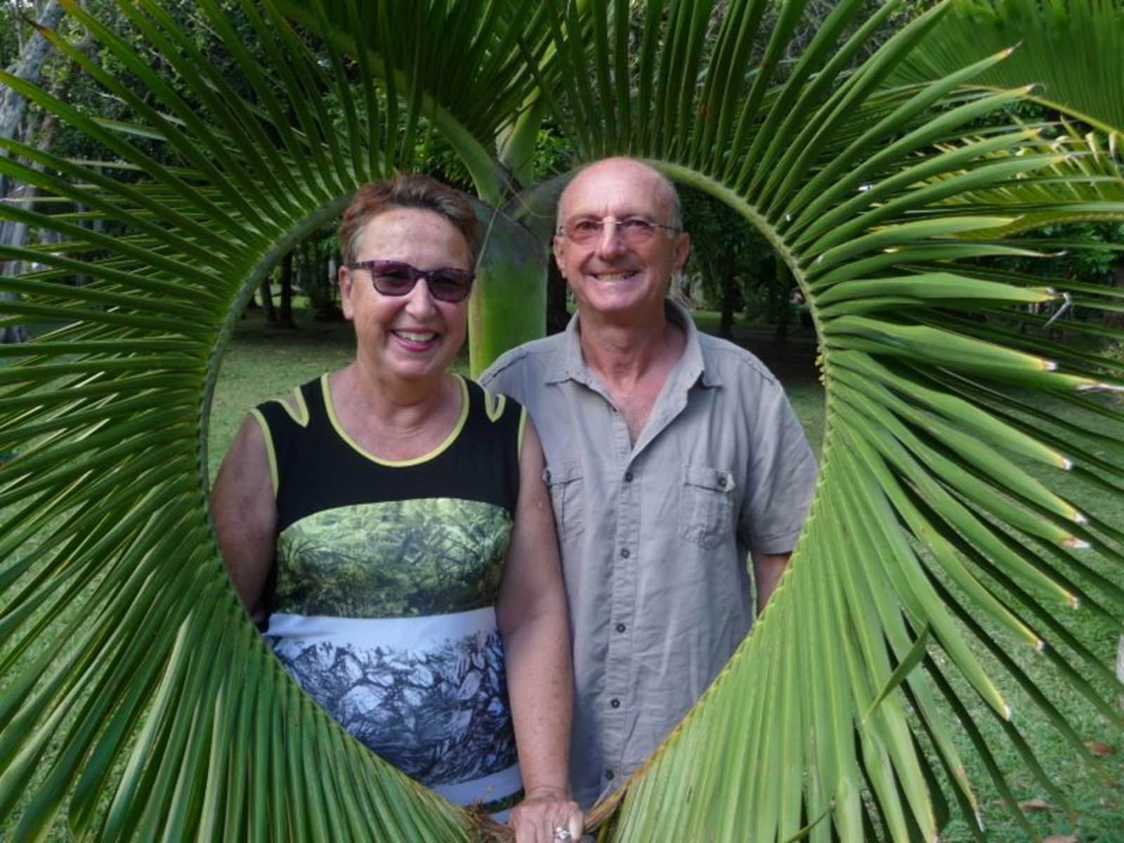 Chantal & Gilbert from Voiron, France